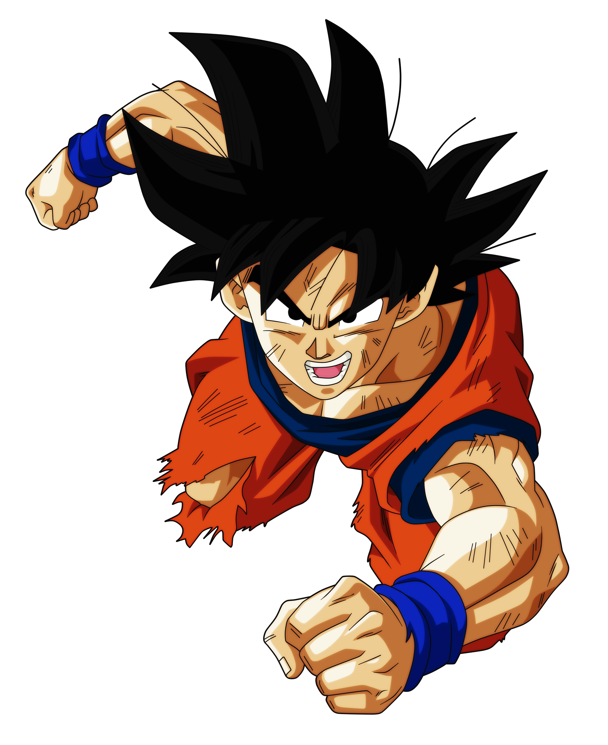 Goku Floats Render.png