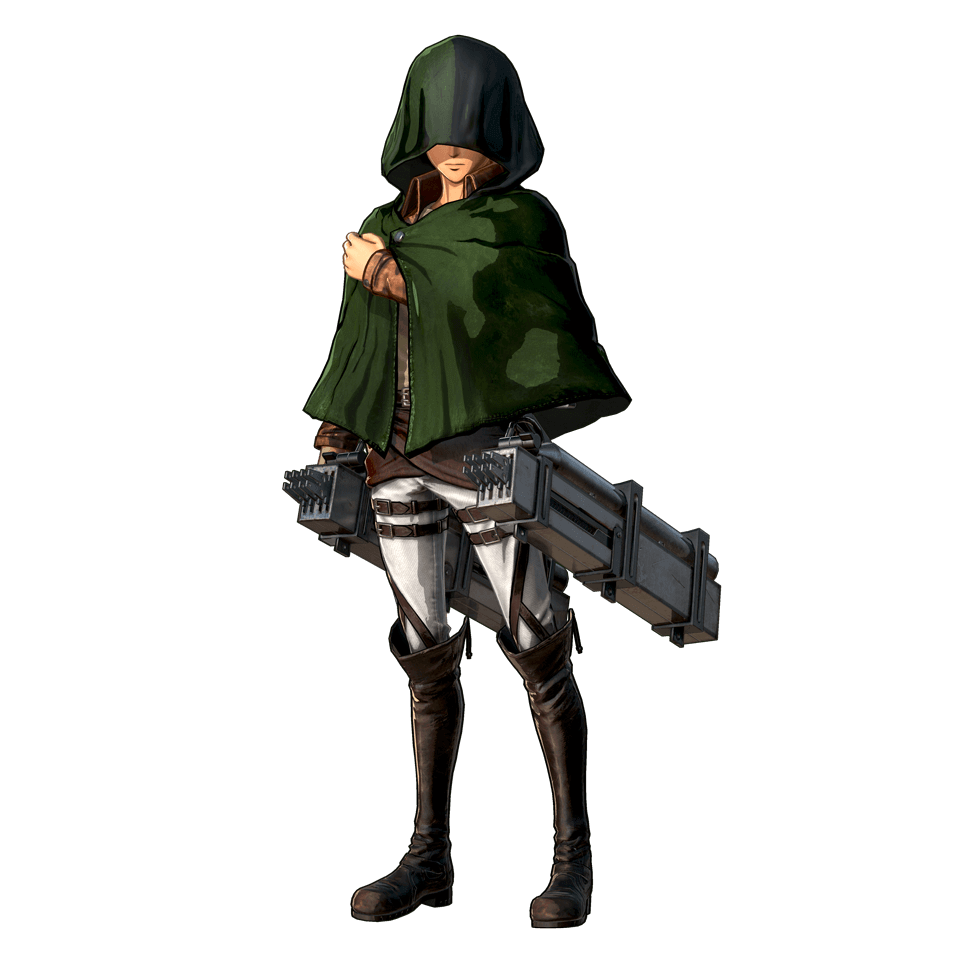 Custom Character Render (Attack on Titan 2 Game)