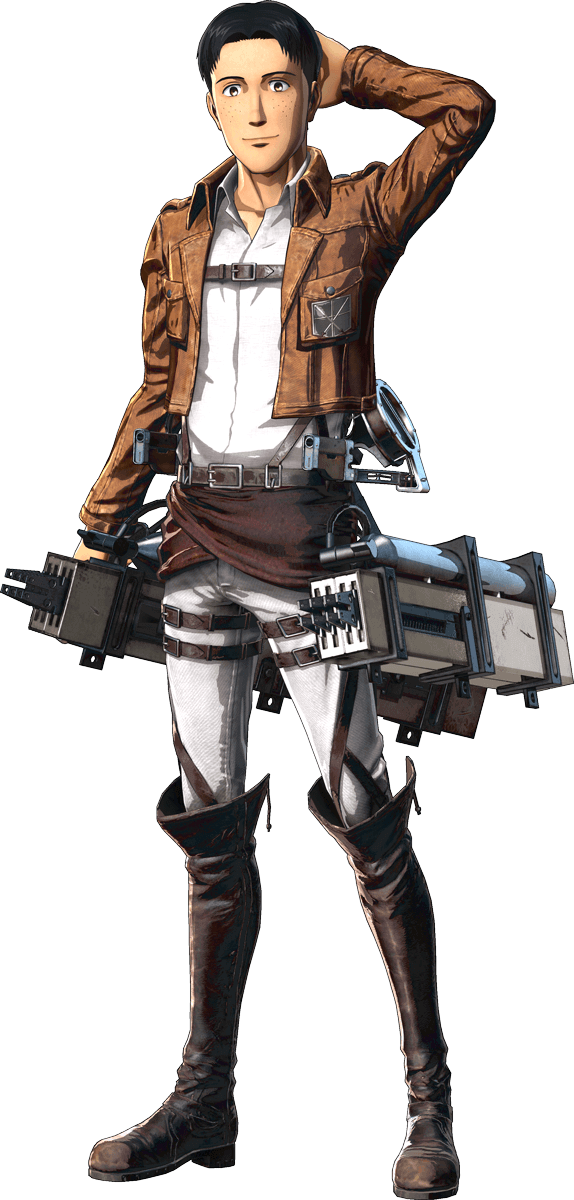 Marco Bodt Render (Attack on Titan Game)