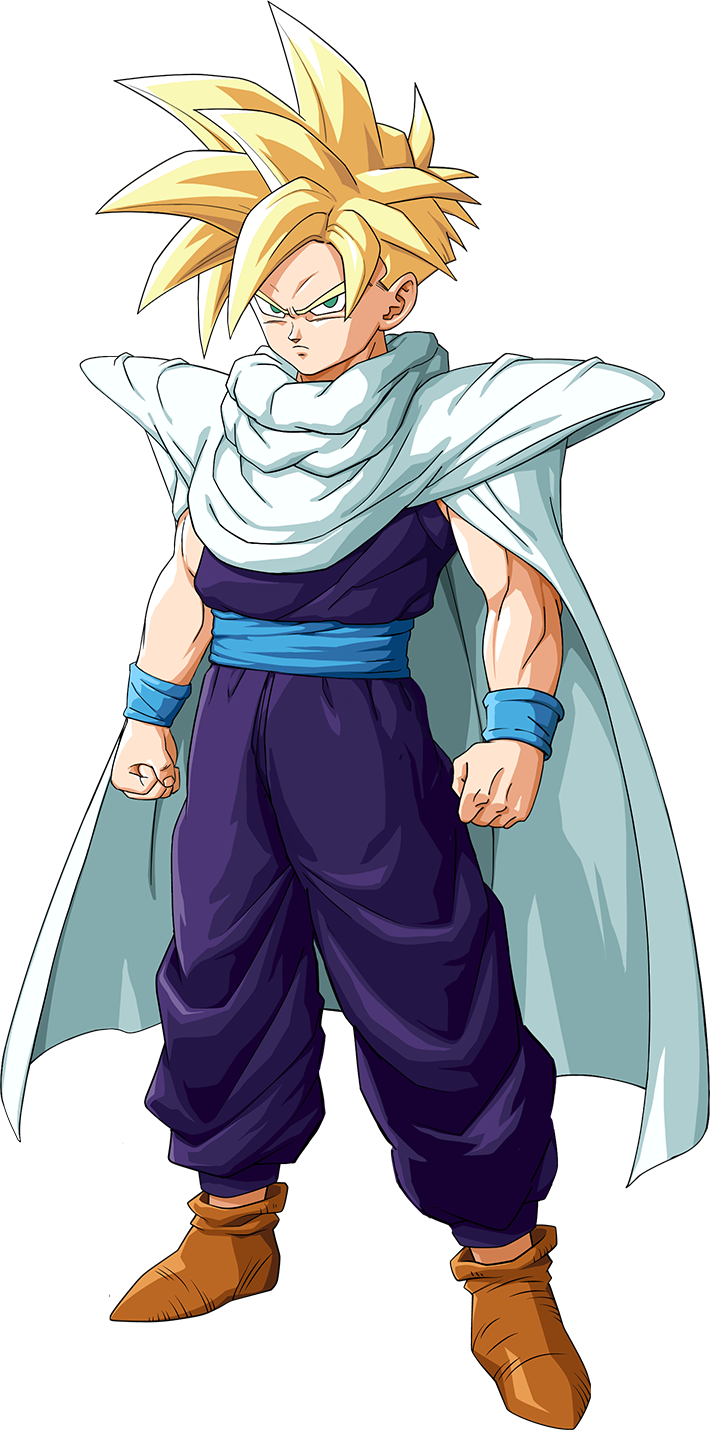 Gohan Super Saiyan Teen Render (Dragon Ball Z Kakarot).png