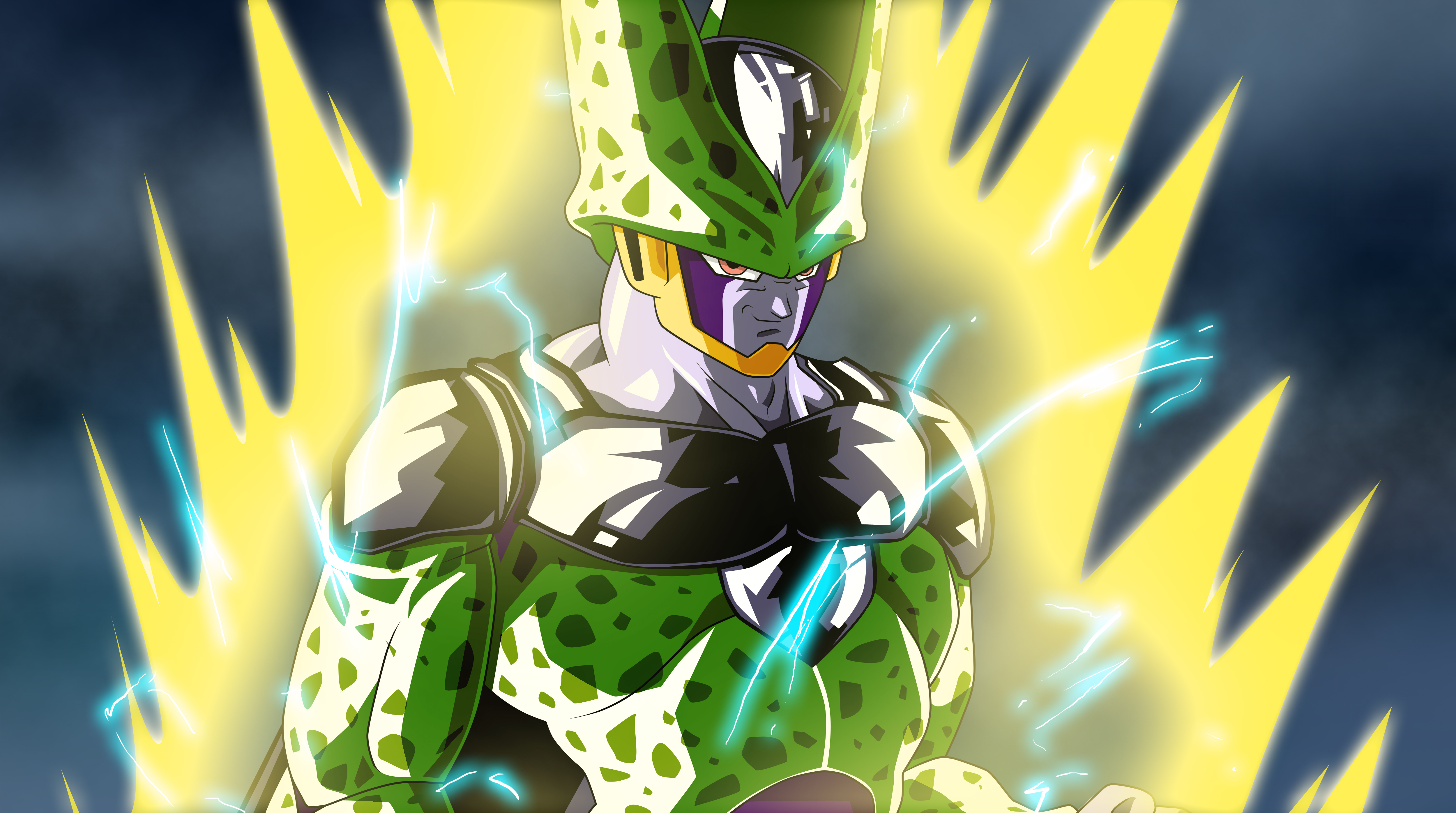 Perfect Cell 4K Wallpaper