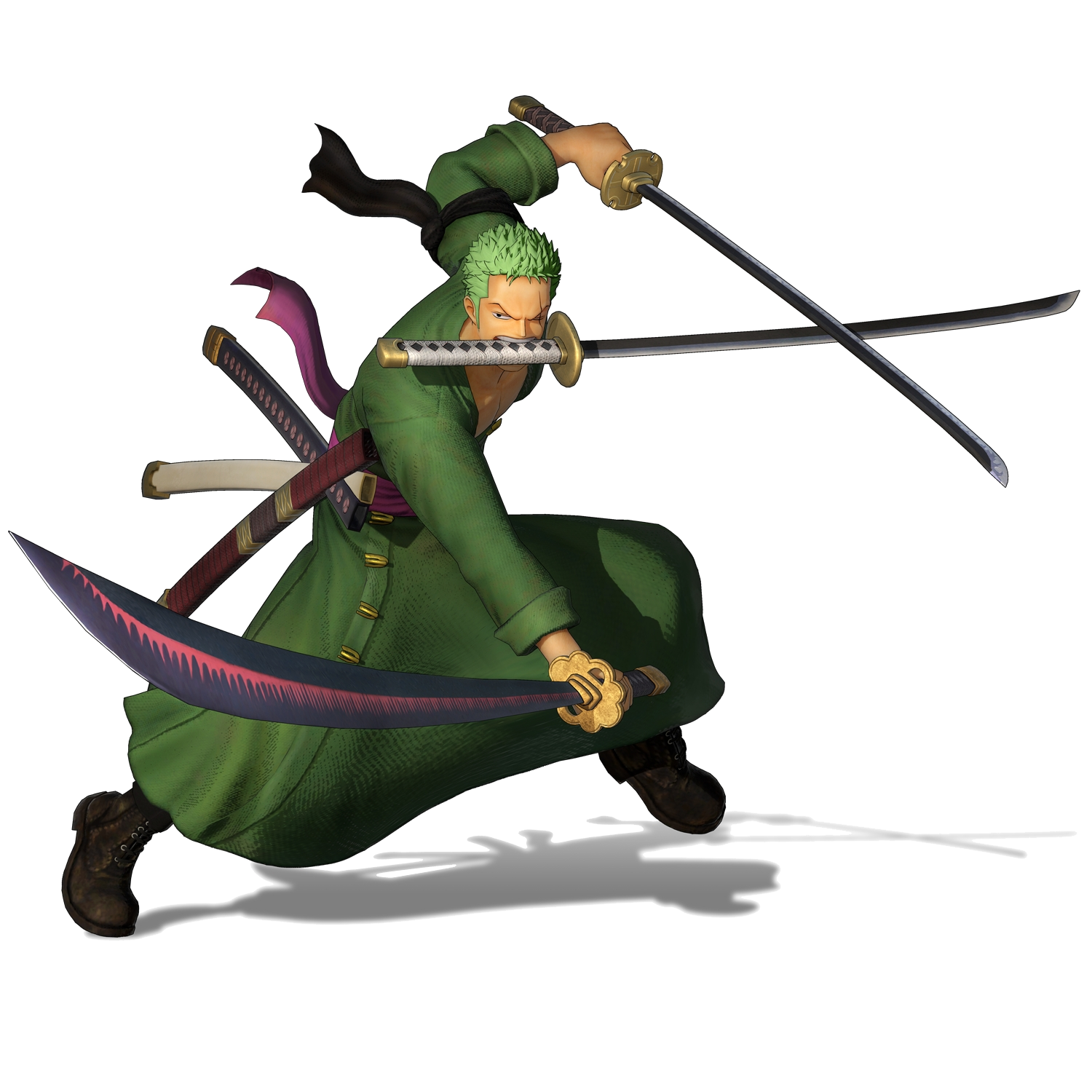 Zoro Render (One Piece Pirate Warriors 4).png