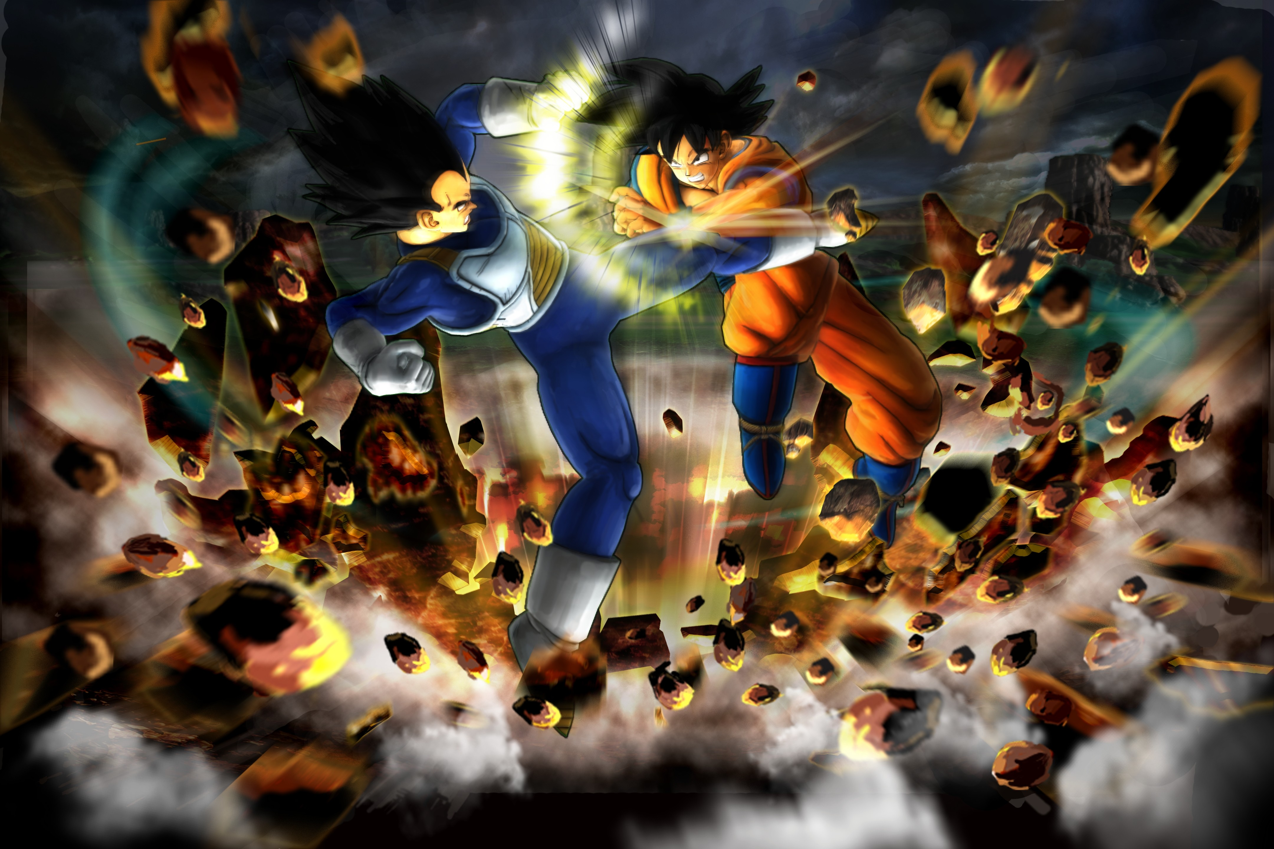 Dragon Ball Z Ultimate Tenkaichi Key Art
