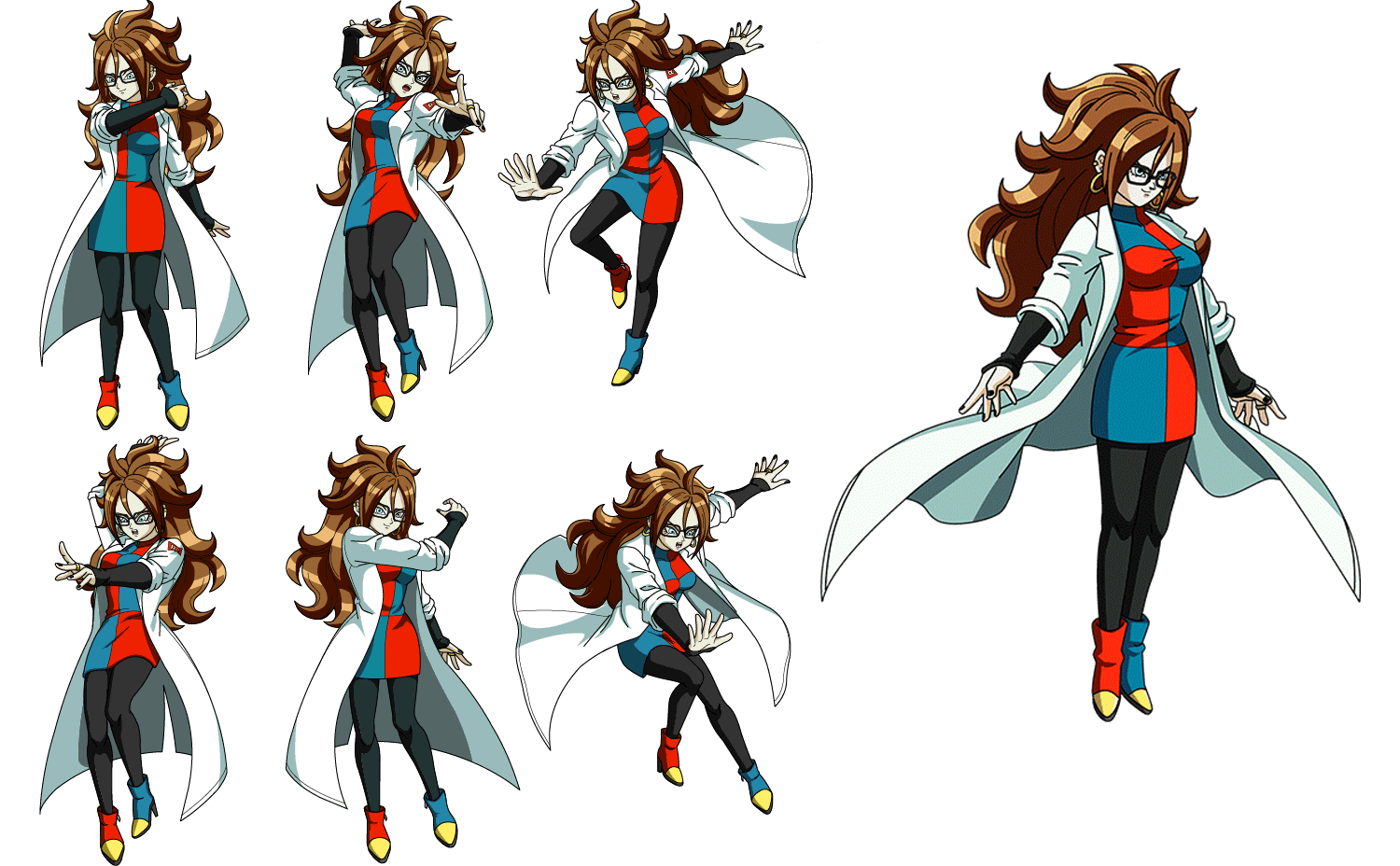Forms of Scientist Android 21 (Dragon Ball FighterZ).png
