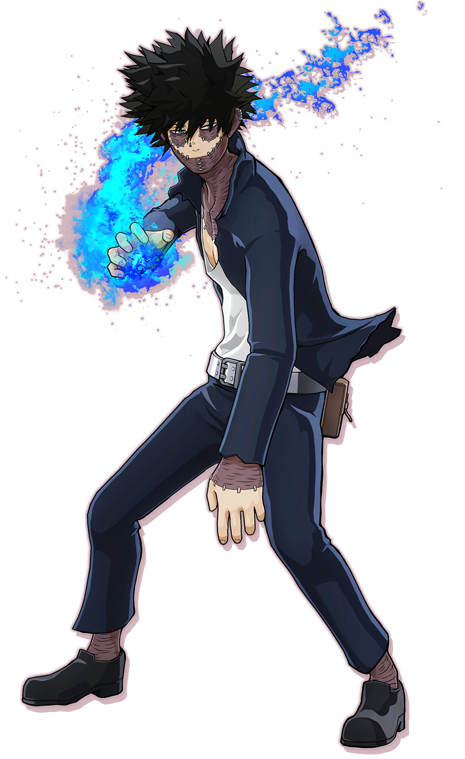 Dabi - Blueflame Render (My Hero One's Justice 1).png