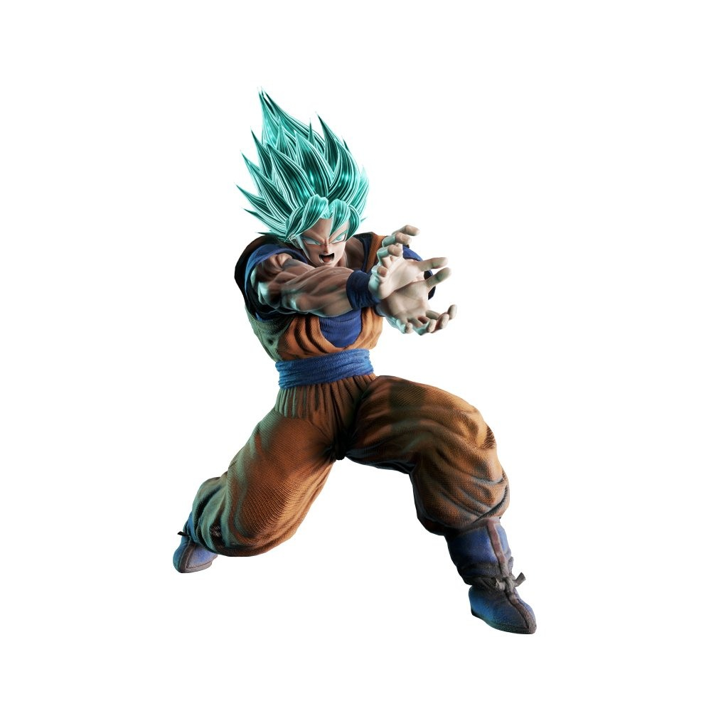 Goku Super Saiyan Blue Art (Jump Force)