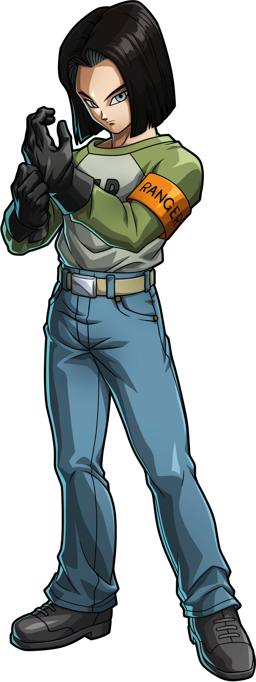 Ranger Andrid 17 Render (Dragon Ball FighterZ).png