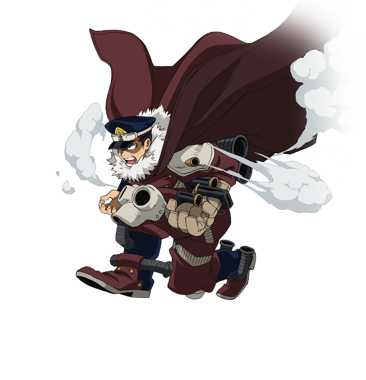 Inasa Yoarashi - Gale Force Render (My Hero One's Justice 2).png