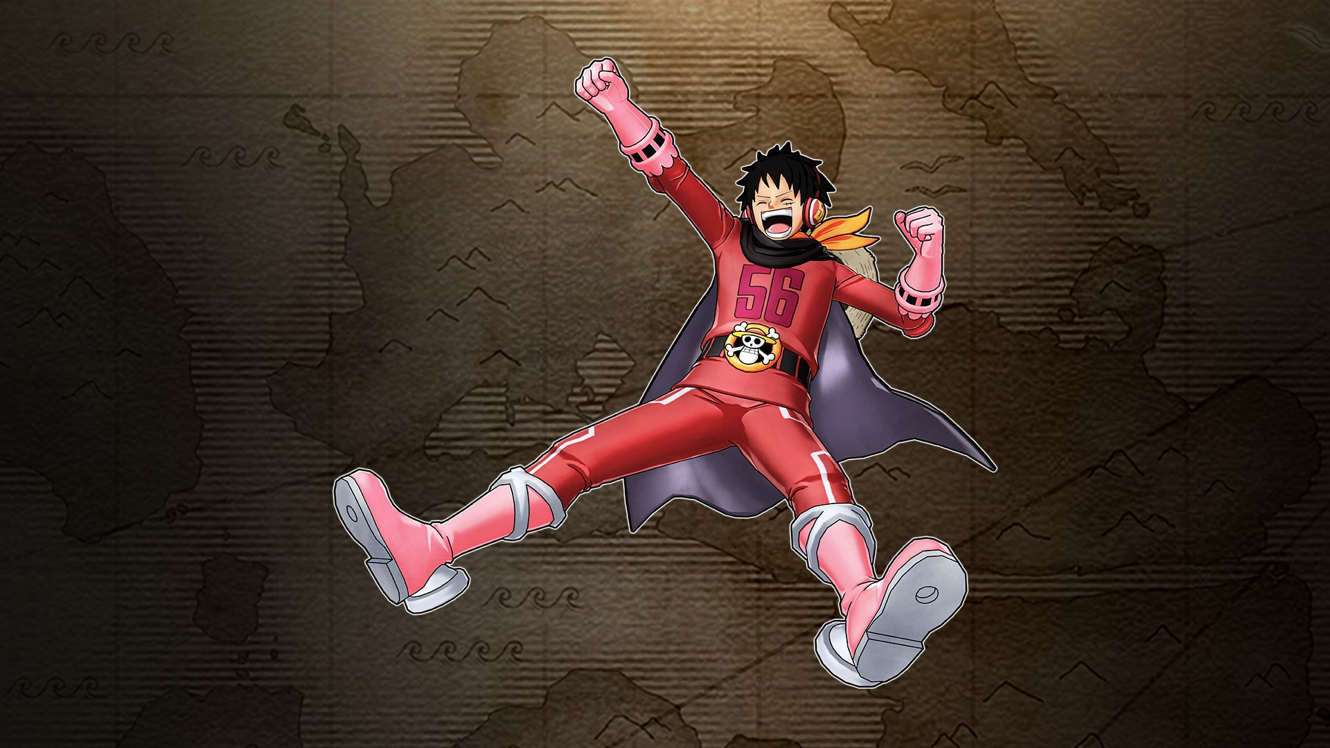 Luffy Raid Suit (One Piece World Seeker)