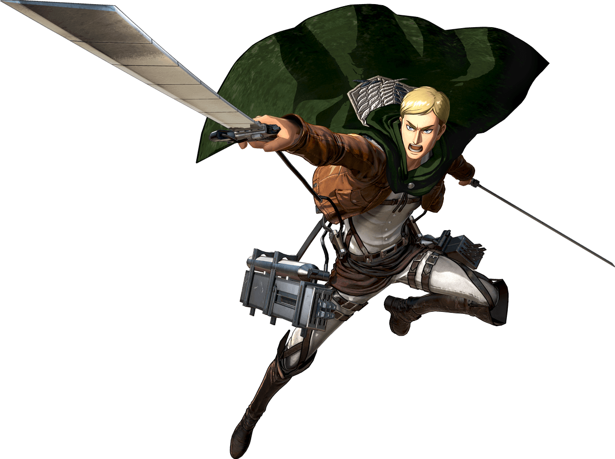 Erwin Smith Render (Attack on Titan 2 Game)