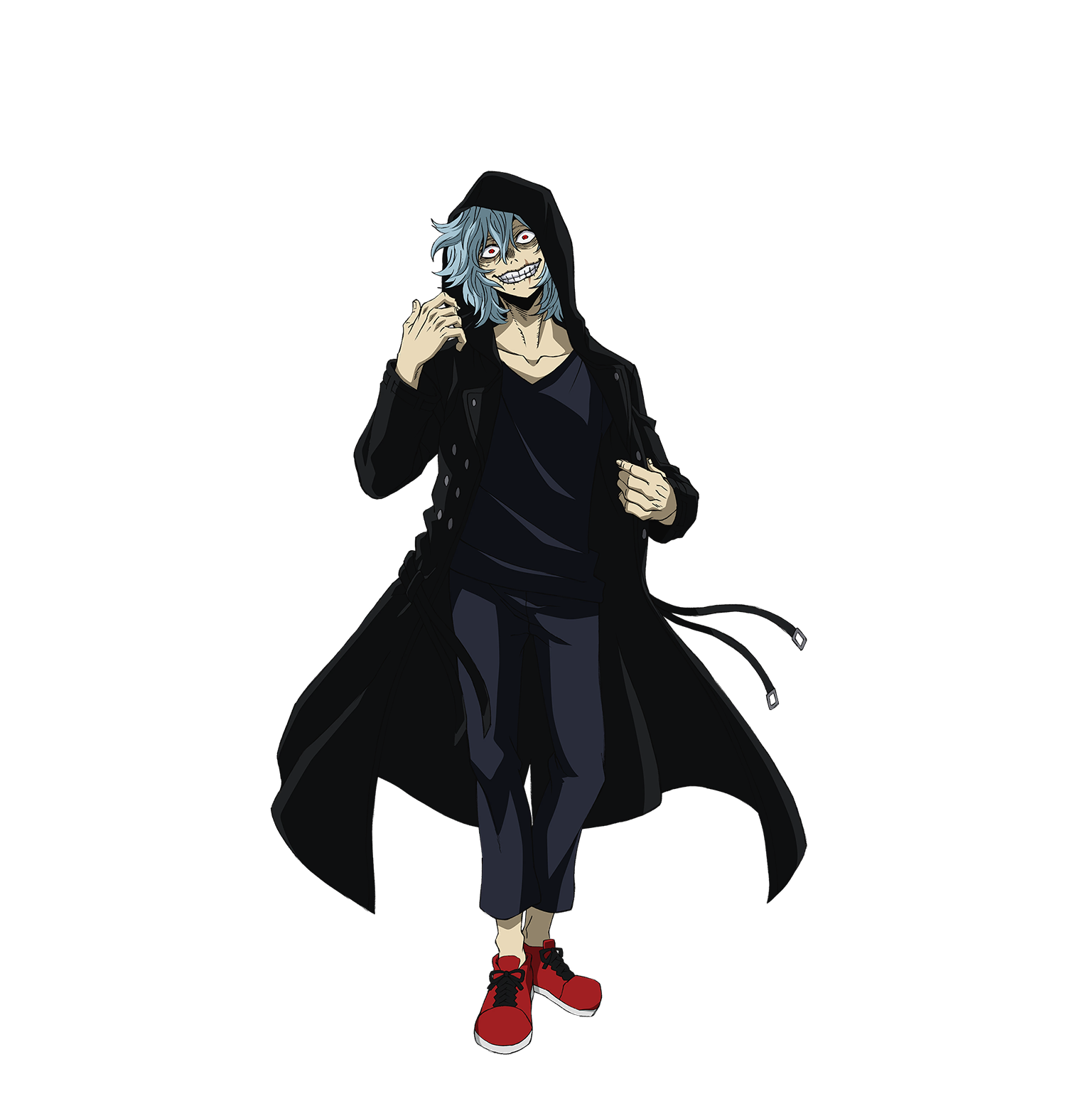Crazy Look Tomura Shigaraki Render (My Hero One's Justice 2).png