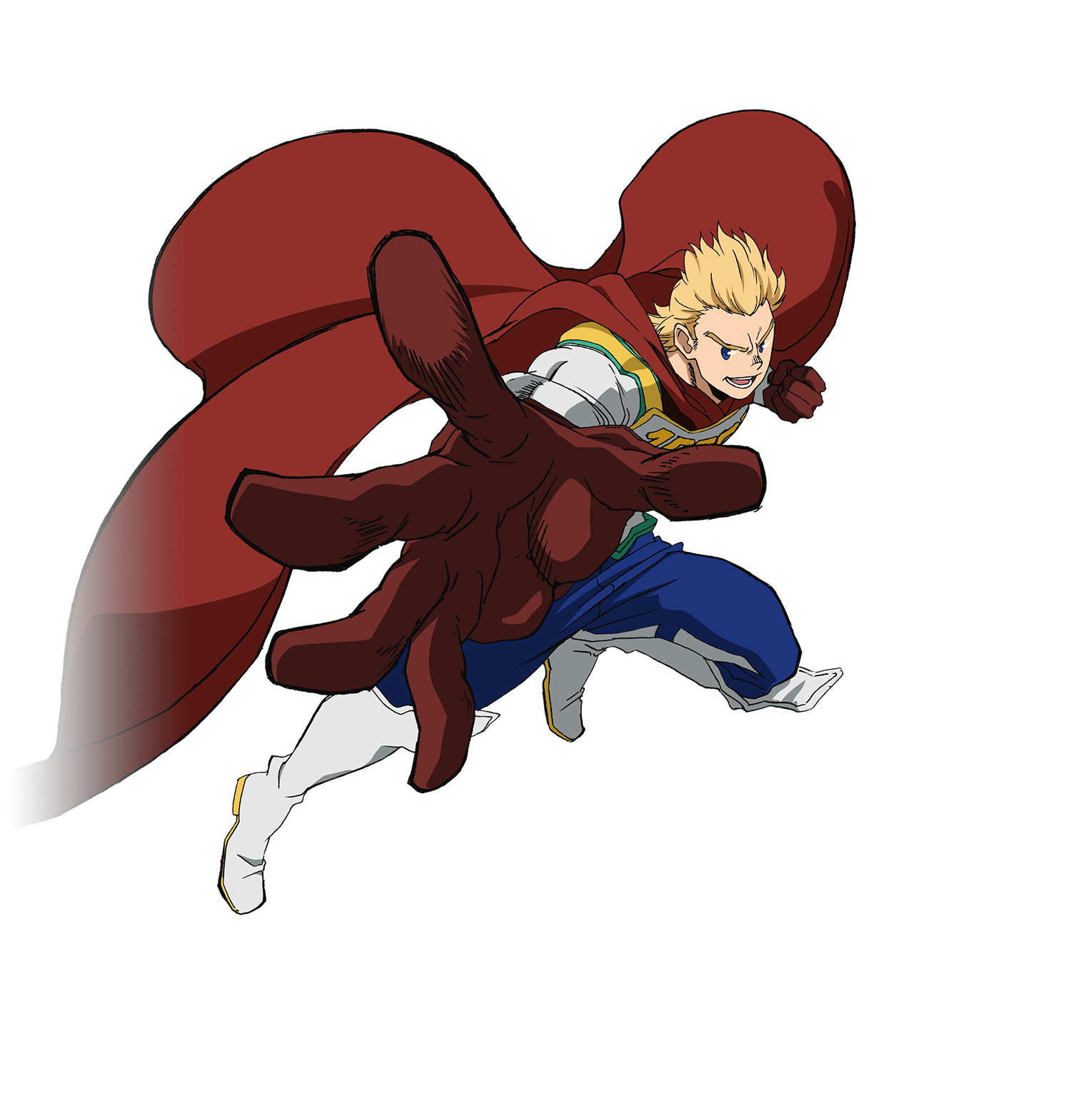 Mirio Togata - LeMillion Render (My Hero One's Justice 2).png