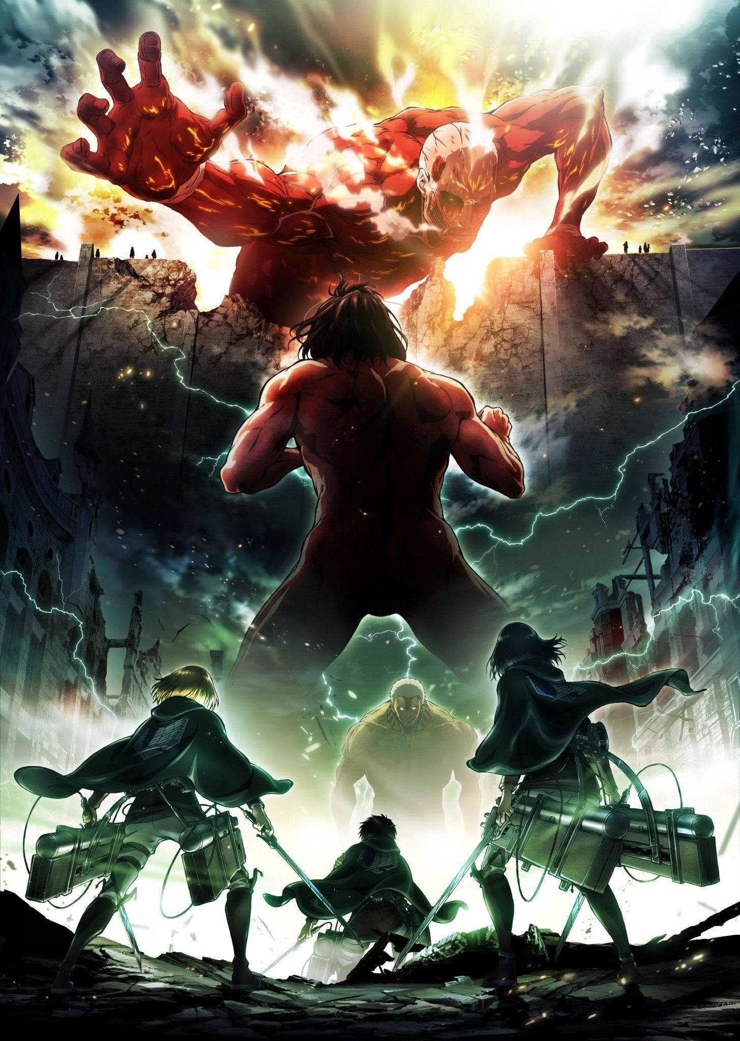 Attack on Titan Season 2 Key Art