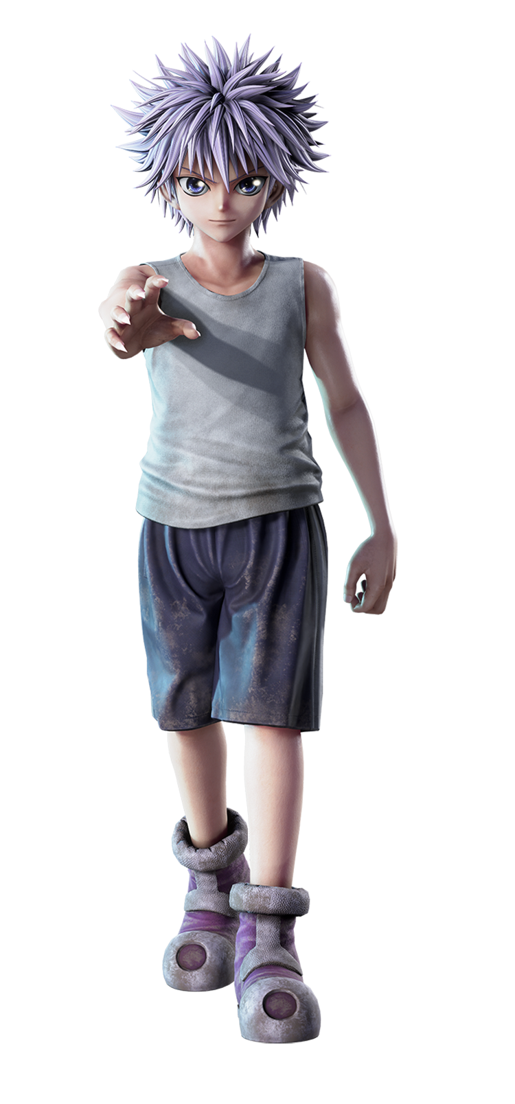 Killua Zoldyck Render (Jump Force)