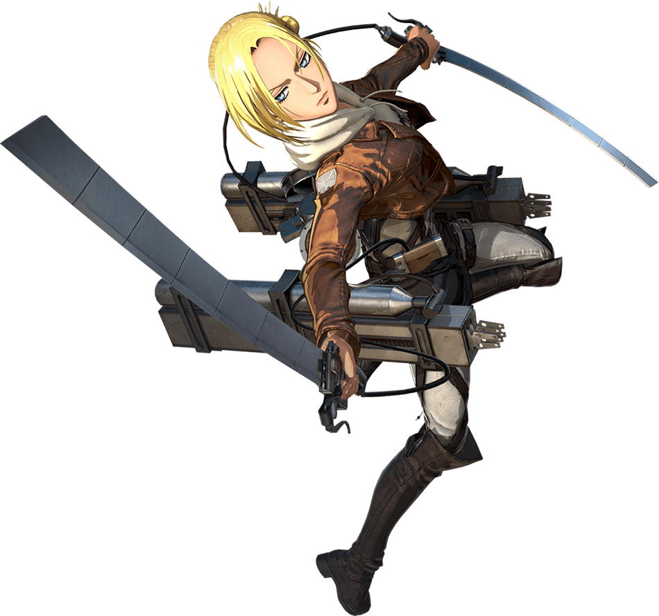 Annie Leonhart Render (Attack on Titan 2 Game)