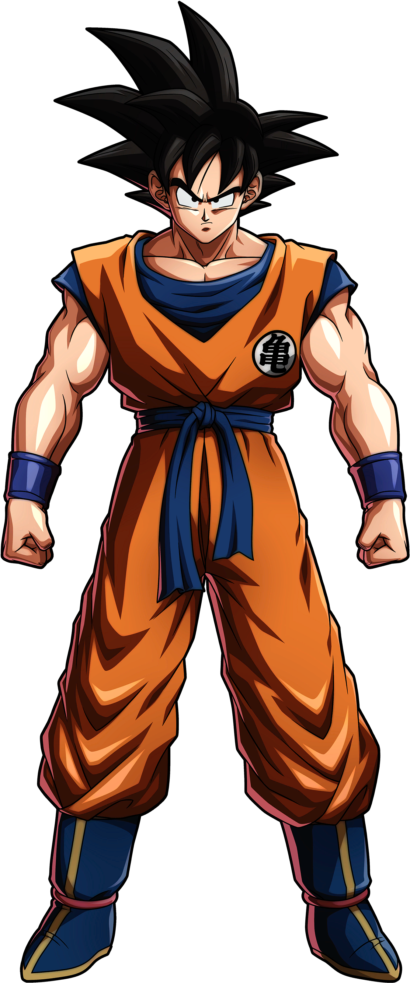 Saiyan Saga Goku Render (Dragon Ball FighterZ).png