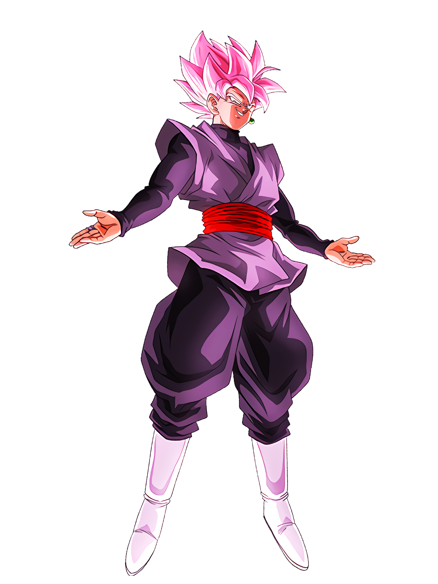 Virtue of Noble Beauty Goku Black SSR Auraless DBS Render (Dragon Ball Z Dokkan Battle).png