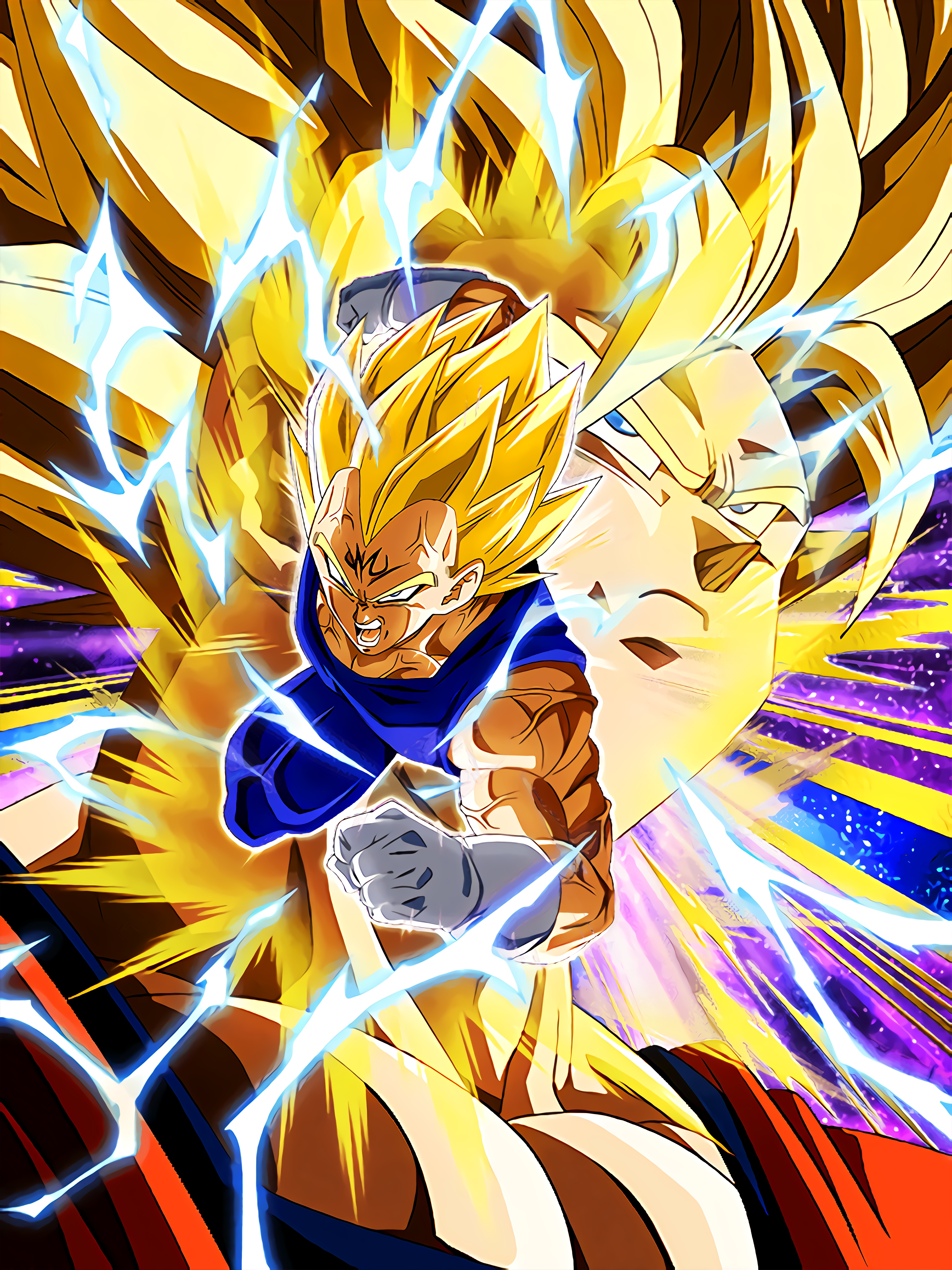 FIght for Pride Majin Vegeta Art (Dragon Ball Z Dokkan Battle)