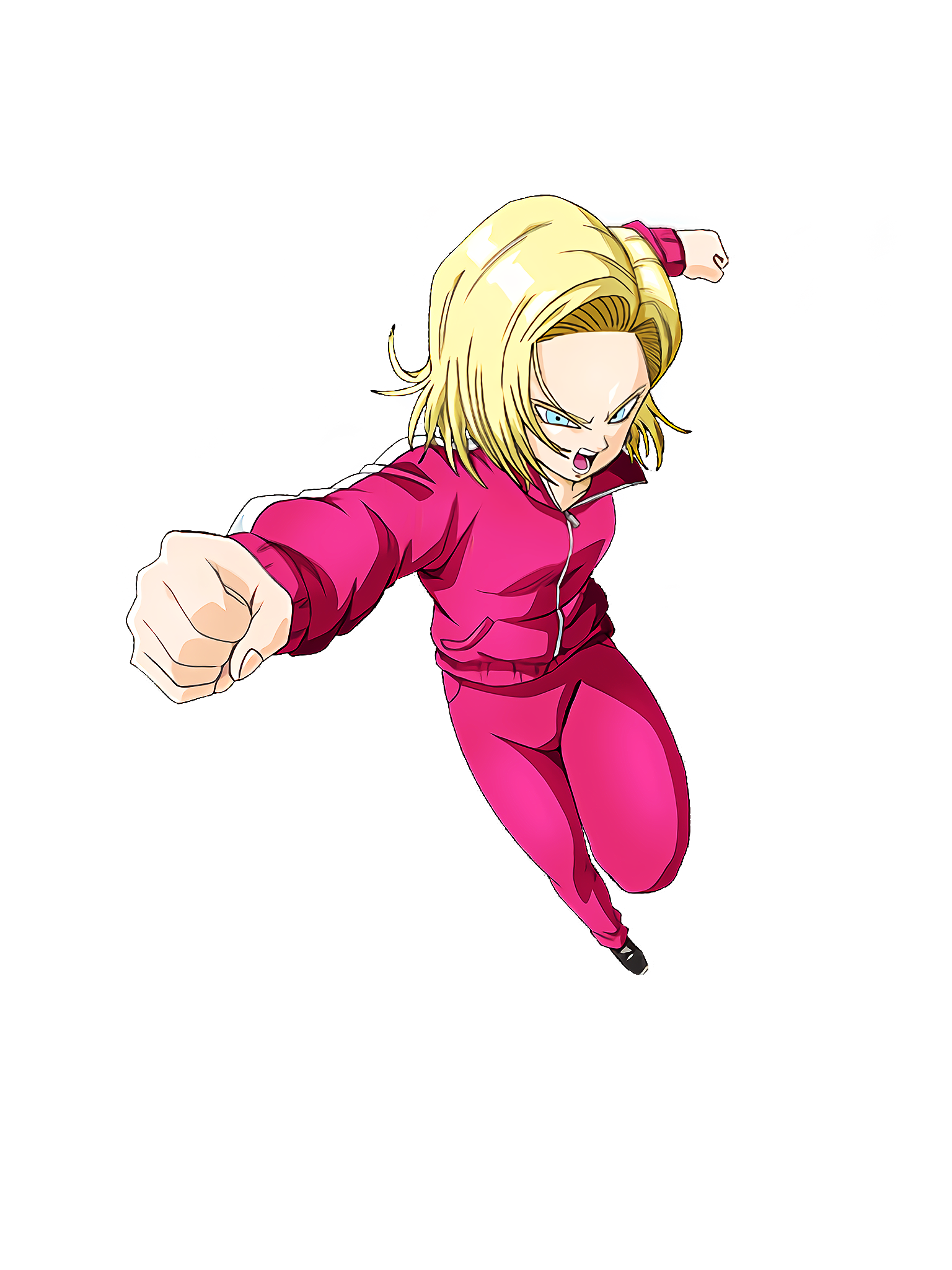 Loves No.7 Space Suit Android 18 DBS Render (Dragon Ball Z Dokkan Battle).png