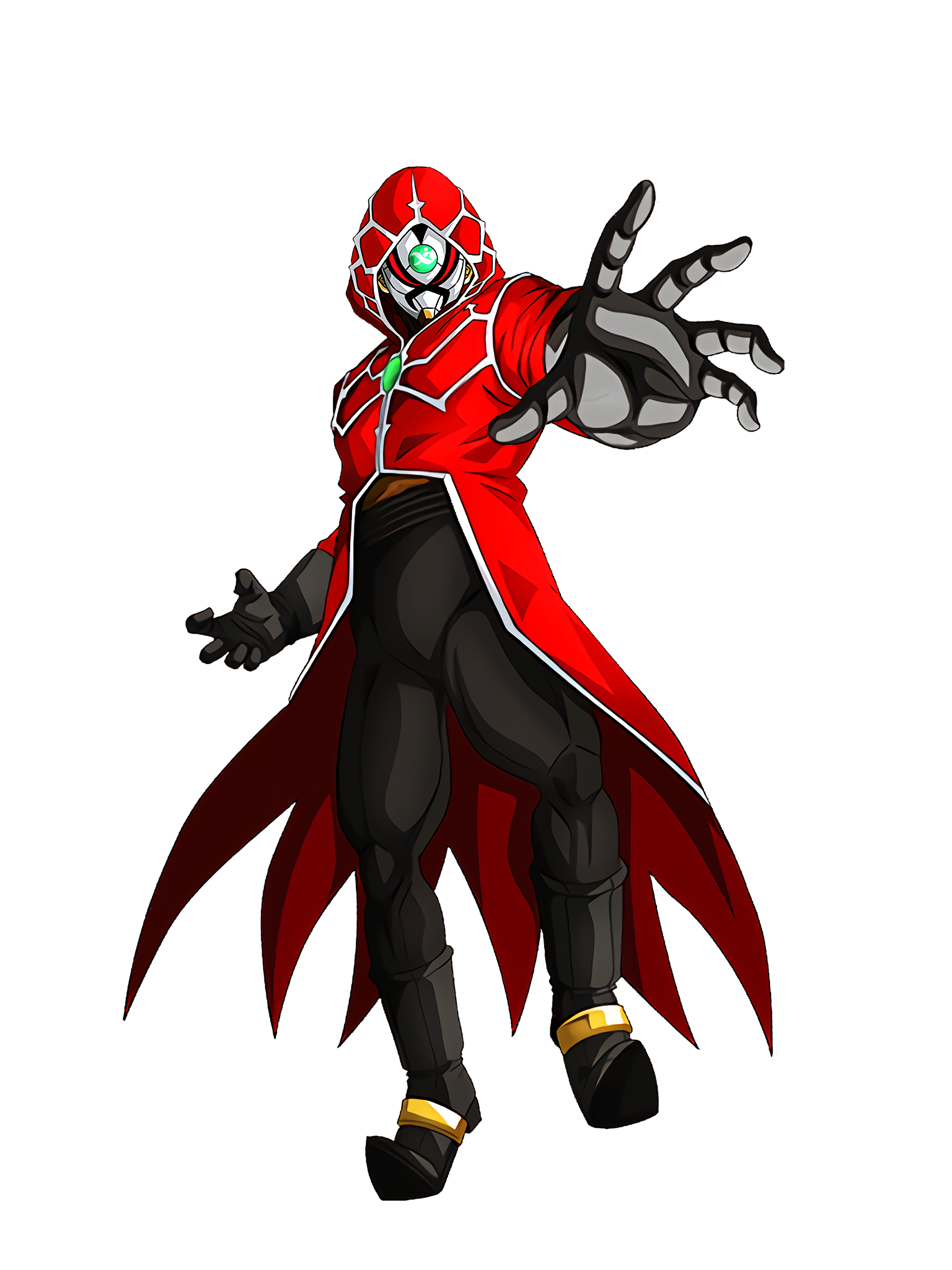 The Dark Empire's Invasion Black Masked King Render (Dragon Ball Z Dokkan Battle) .png