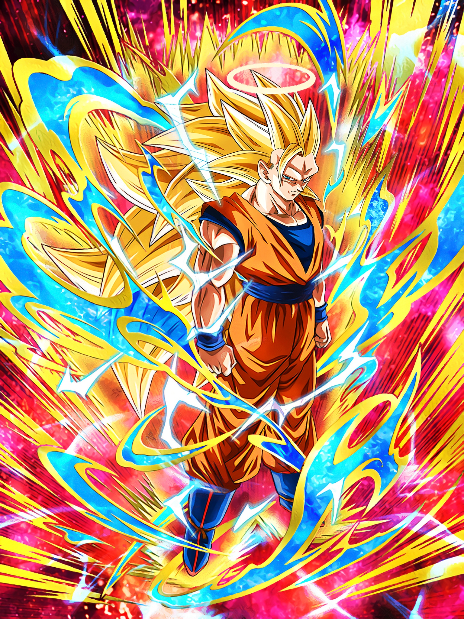 Astounding Transformation Super Saiyan 3 Goku Angel Art (Dragon Ball Z Dokkan Battle).jpg