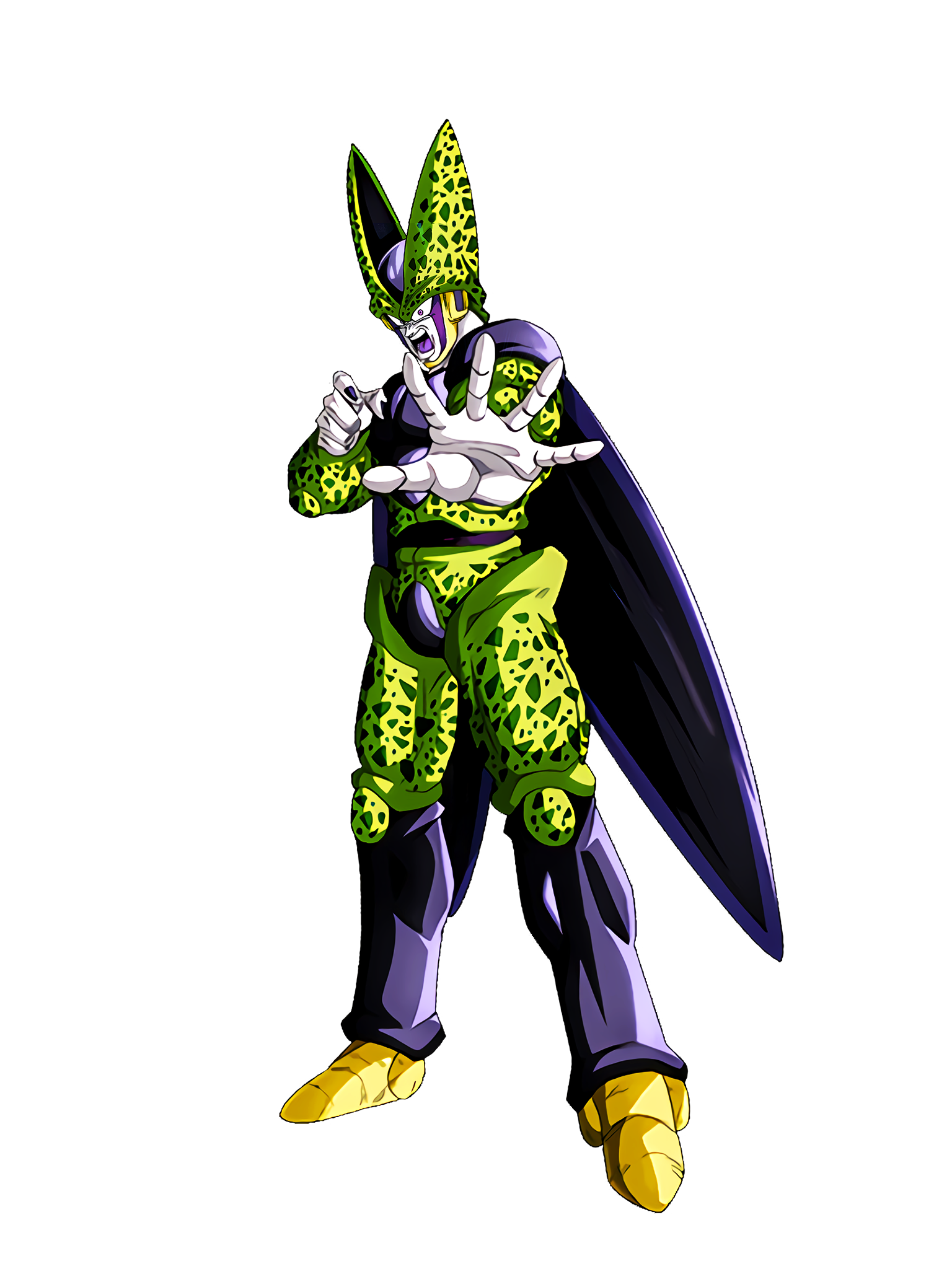 Tremendous Power of Tremor Cell Perfect Form Render (Dragon Ball Z Dokkan Battle) .png