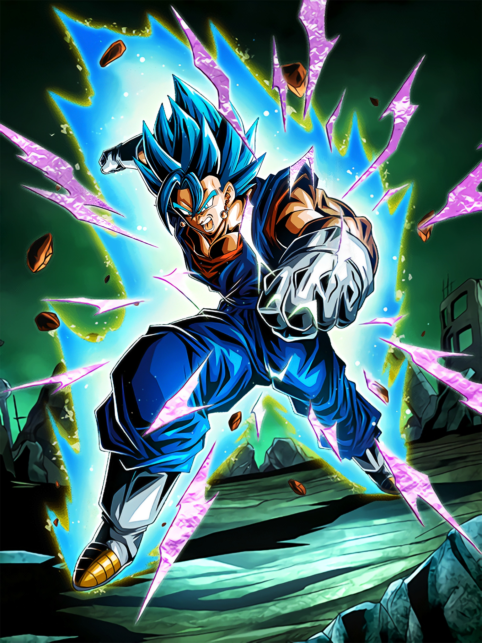 All or Nothing Super Saiyan God SS Vegito Art (Dragon Ball Z Dokkan Battle).jpg