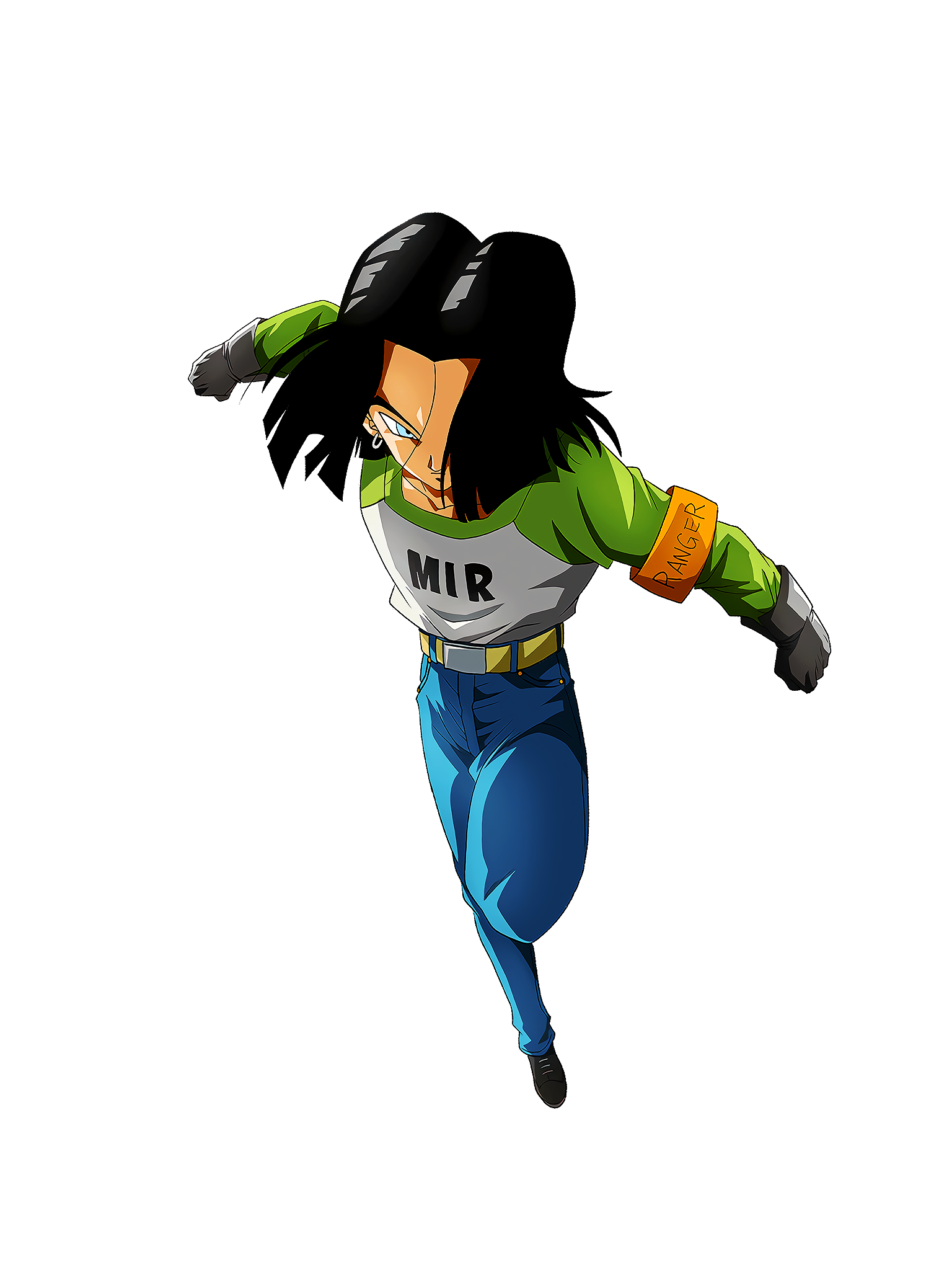 Survival with the Dead Power Android 17 Render (Dragon Ball Z Dokkan Battle) .png