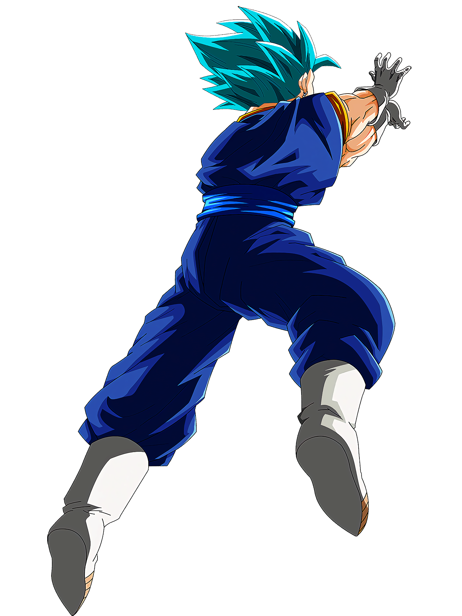Vegito Blue Summon Animation 1 DBS Render (Dragon Ball Z Dokkan Battle).png
