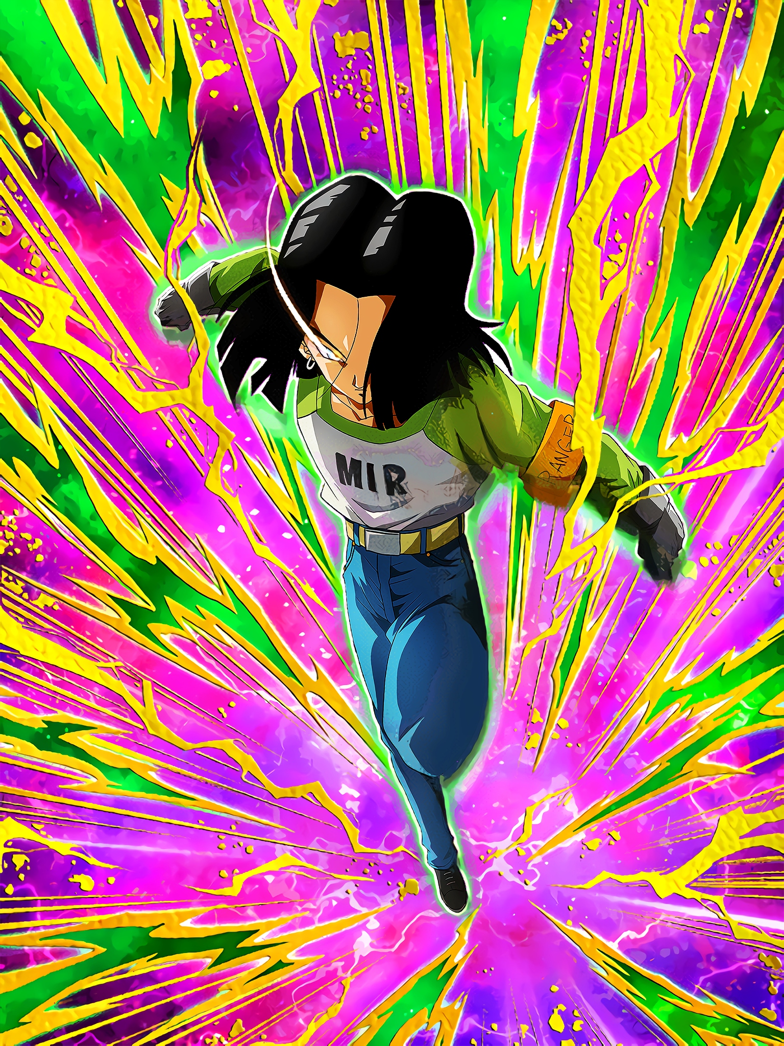 Survival with the Dead Power Android 17 Art (Dragon Ball Z Dokkan Battle).jpg