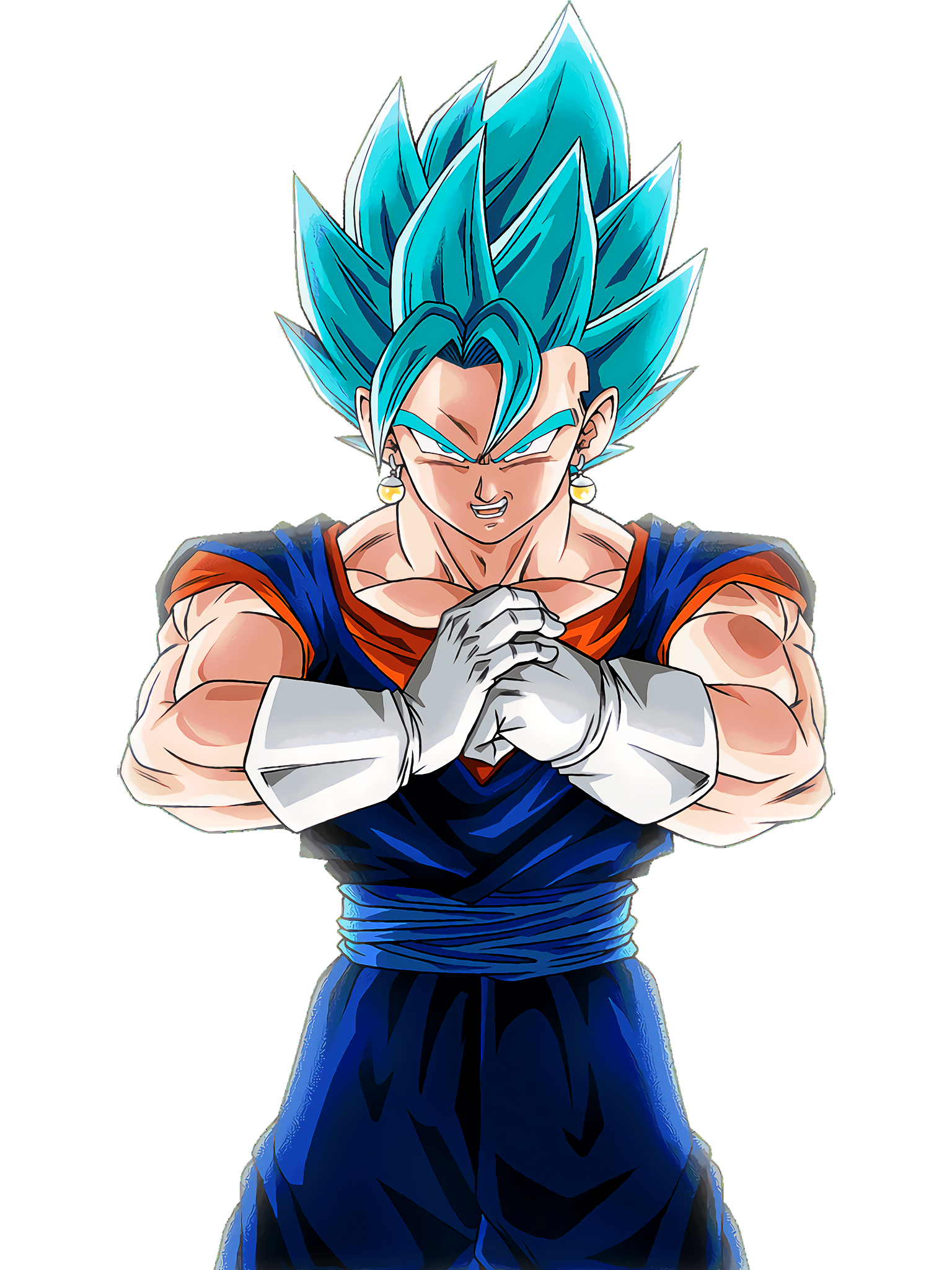 Vegito Blue Summon Animation 3 DBS Render (Dragon Ball Z Dokkan Battle).png