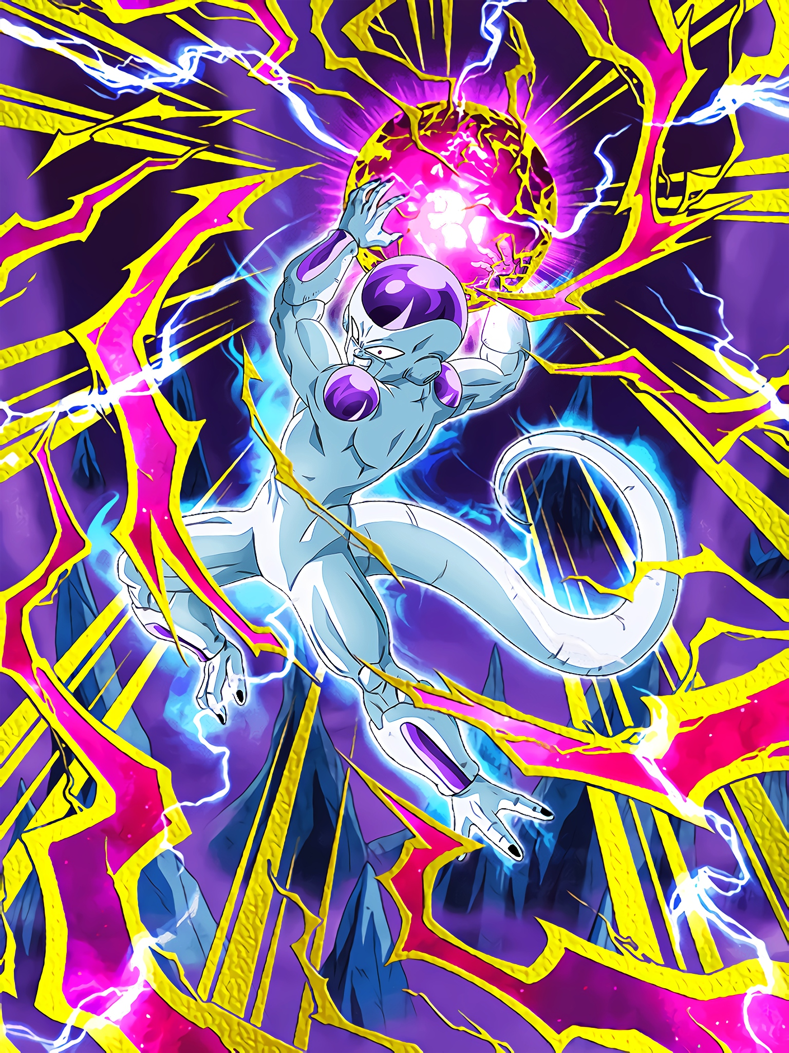 Roars of Anger in Hell Frieza Final Form Art (Dragon Ball Z Dokkan Battle).jpg