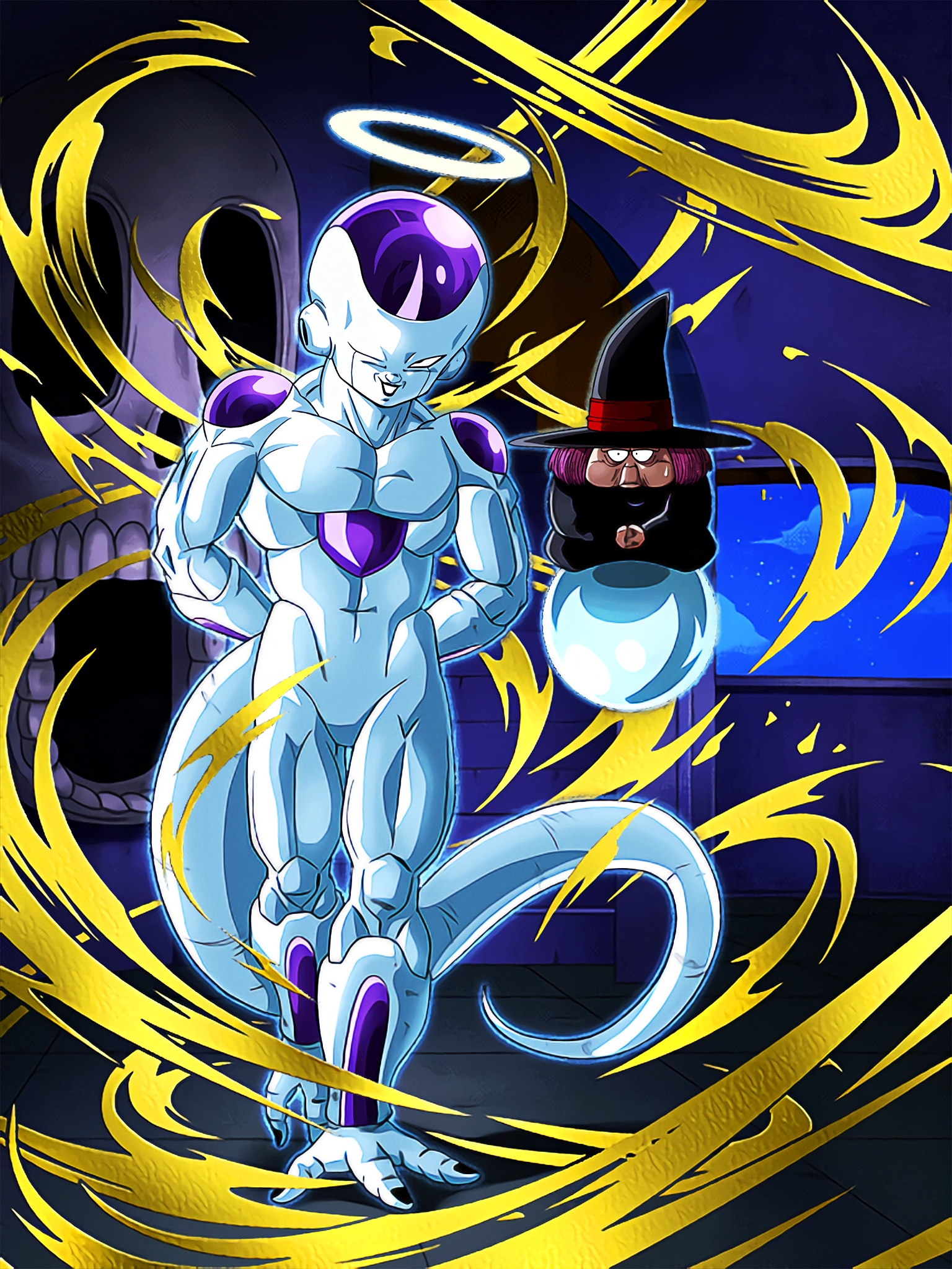 Shady Business Frieza Final Form Angel Art (Dragon Ball Z Dokkan Battle).jpg