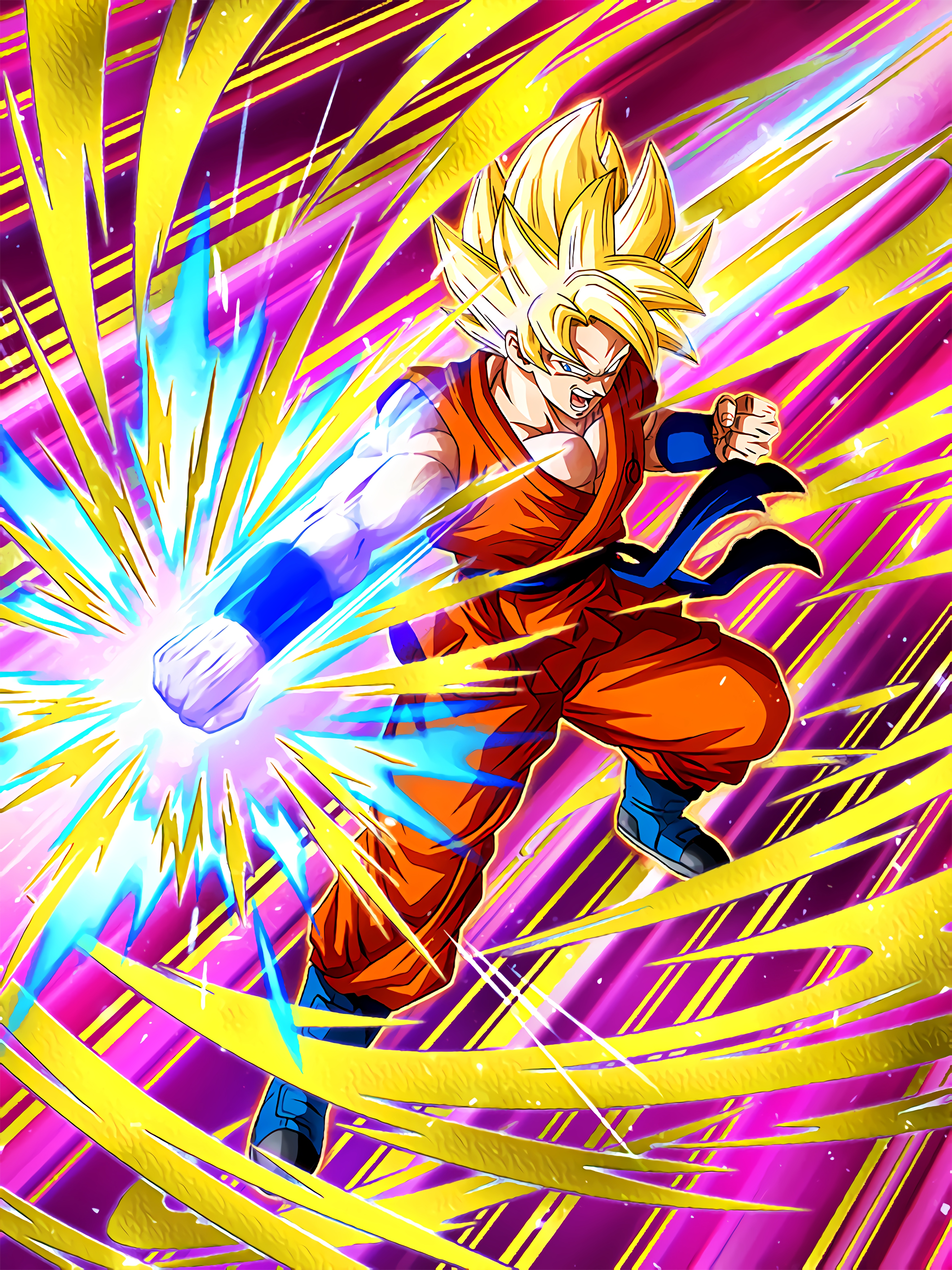 Concentration of Spirit Super Saiyan Goku Art (Dragon Ball Z Dokkan Battle).jpg