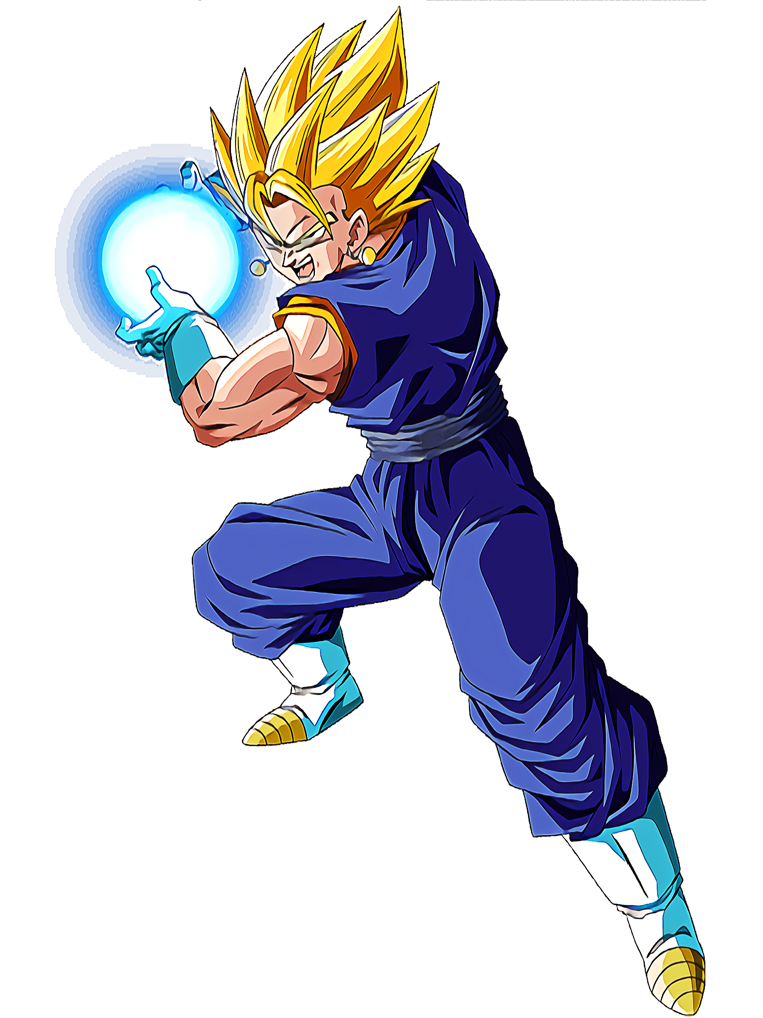 Super Vegito Asset 3 Render (Dragon Ball Z Dokkan Battle) .png