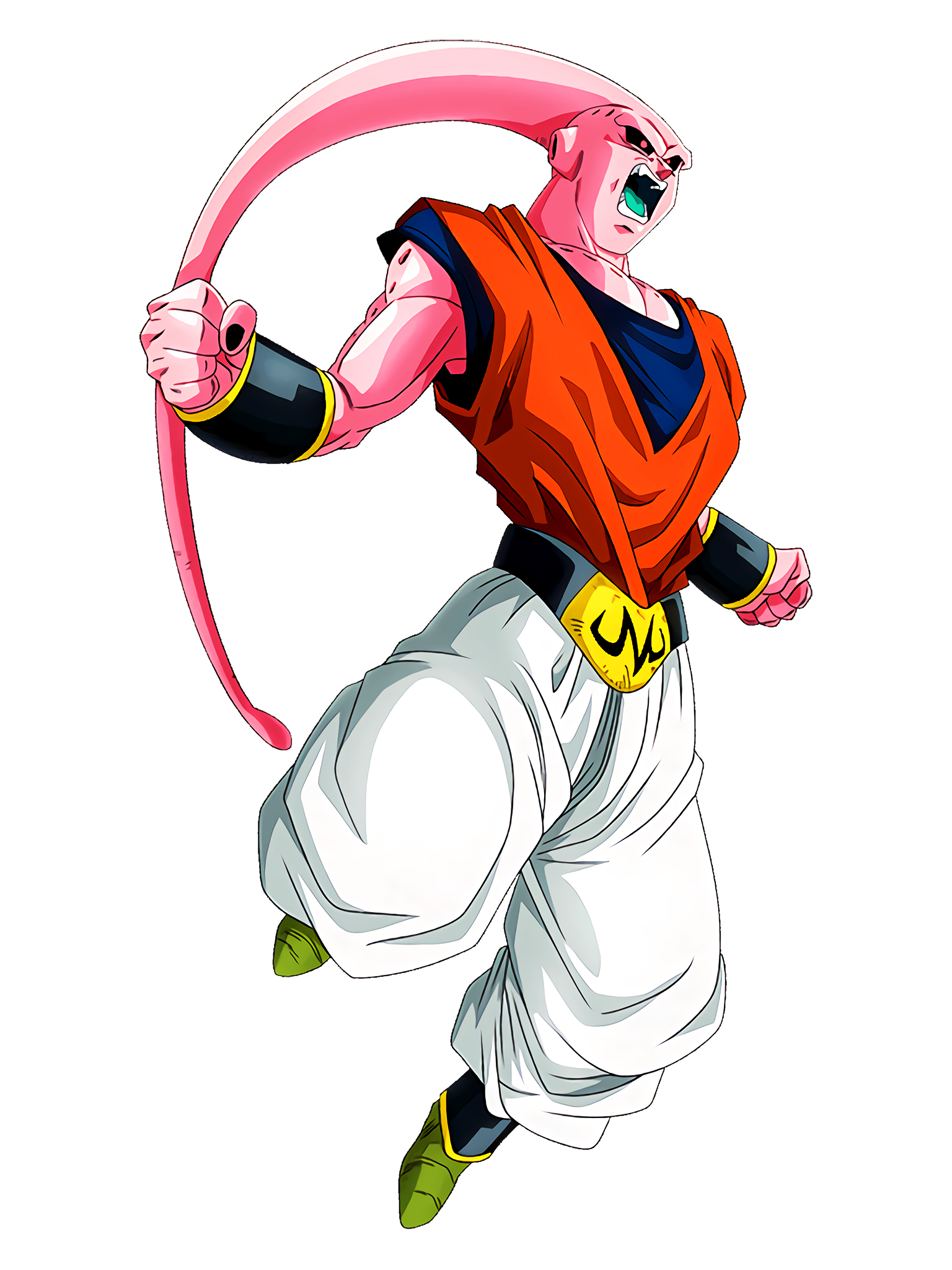 Amazing Absorption Capacity Buu Ultimate Gohan Absorbed Character 2 Render (Dragon Ball Z Dokkan Battle) .png
