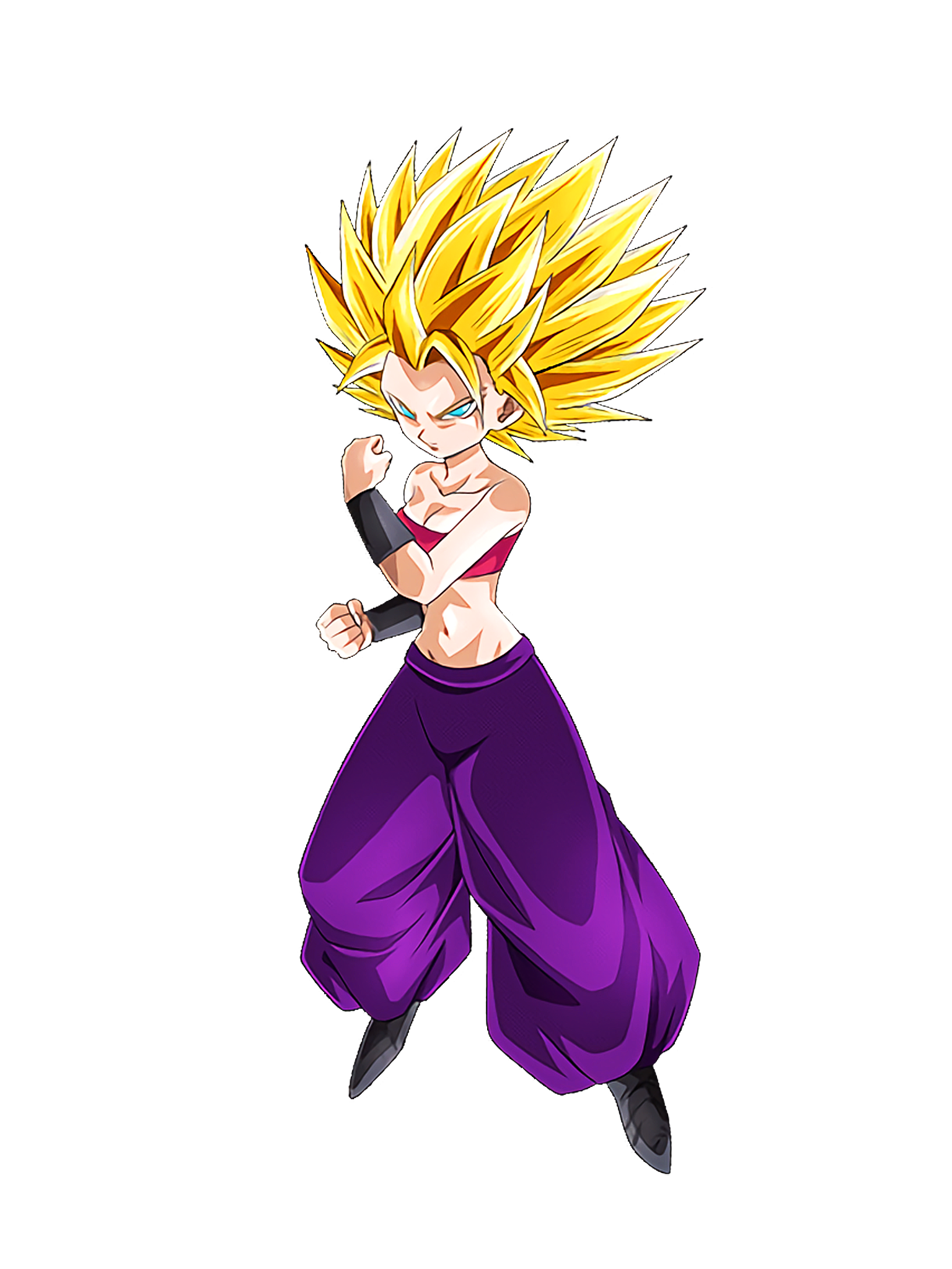 SSJ2 Caulifla1 DBS Render (Dragon Ball Z Dokkan Battle).png