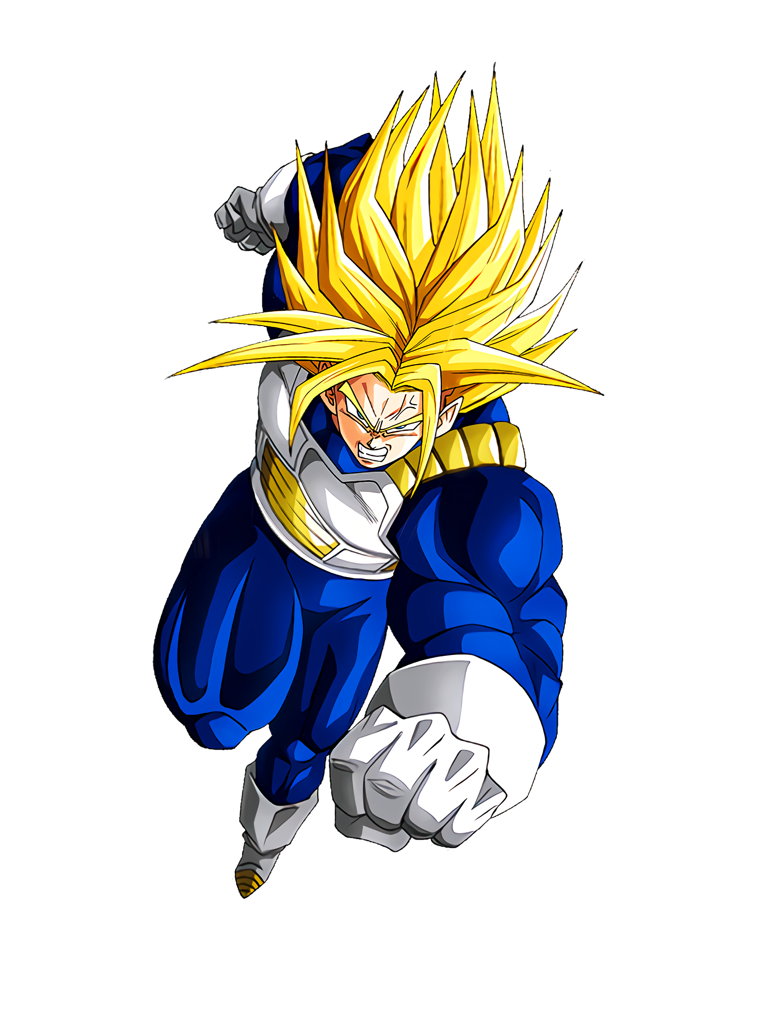 Unmatched Battle Style Super Trunks Render (Dragon Ball Z Dokkan Battle) .png