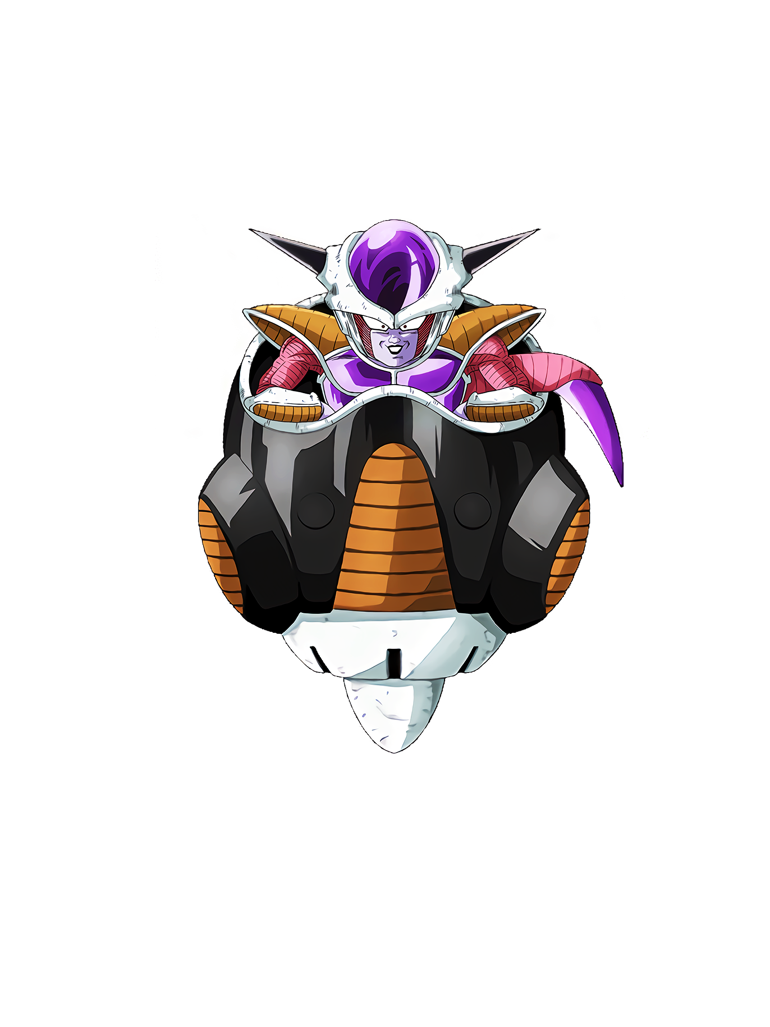 The Terror of Universe's Most Malevolent Frieza 1st Form Render (Dragon Ball Z Dokkan Battle) .png