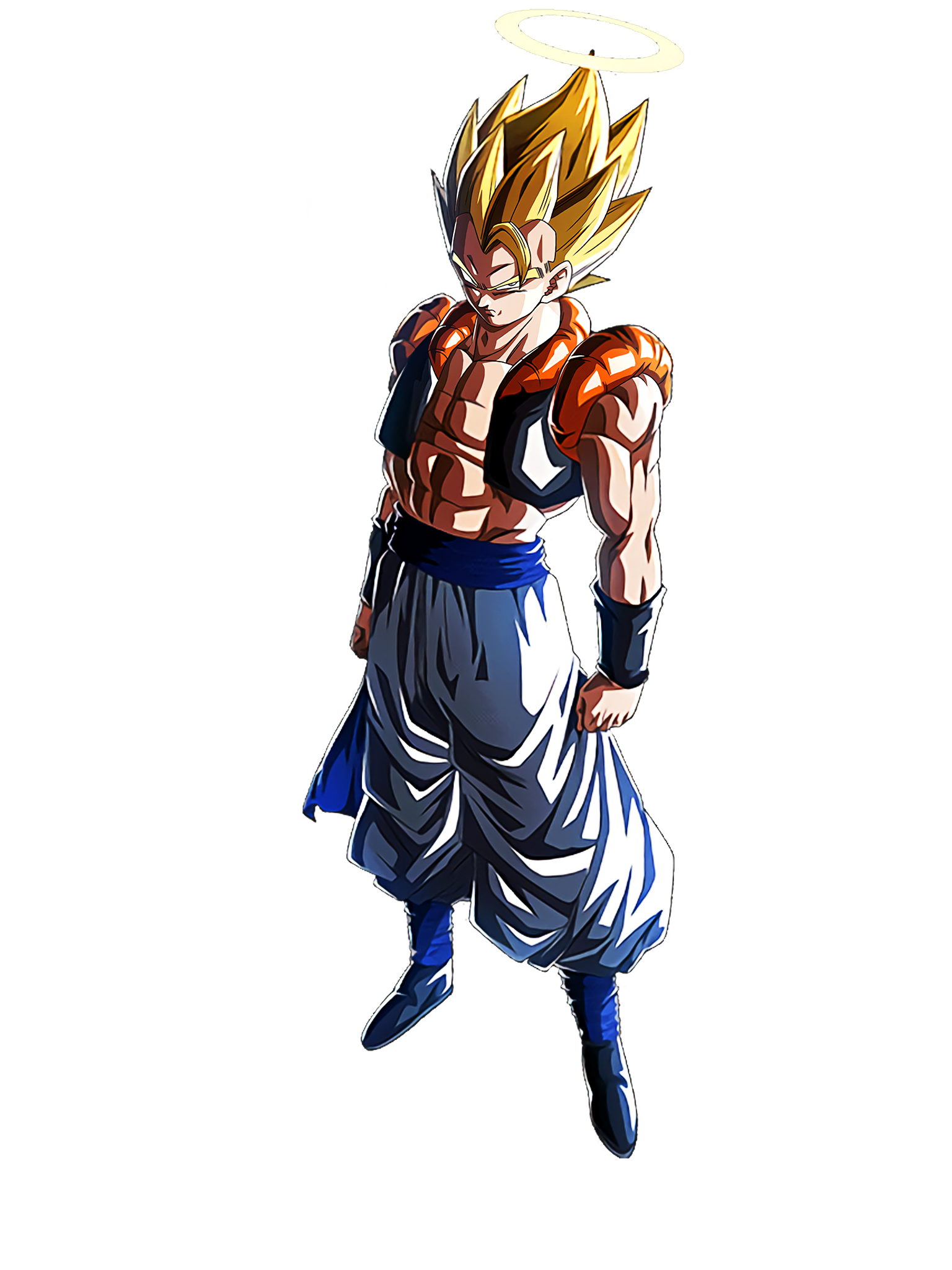 Fusion of Two Powers Super Gogeta Render (Dragon Ball Z Dokkan Battle) .png