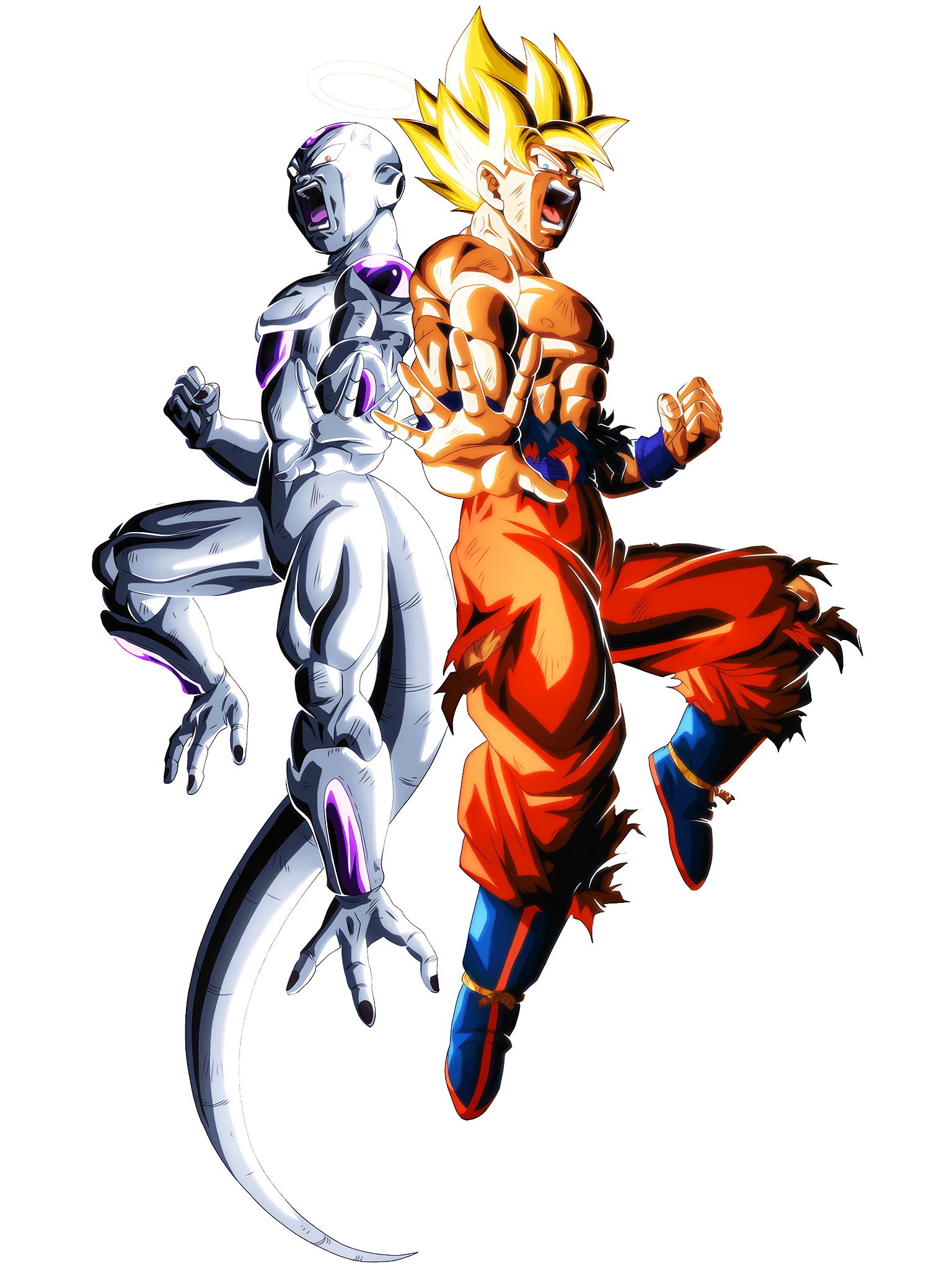 The Miracle of Goku & Frieza 2 DBS Render (Dragon Ball Z Dokkan Battle).png