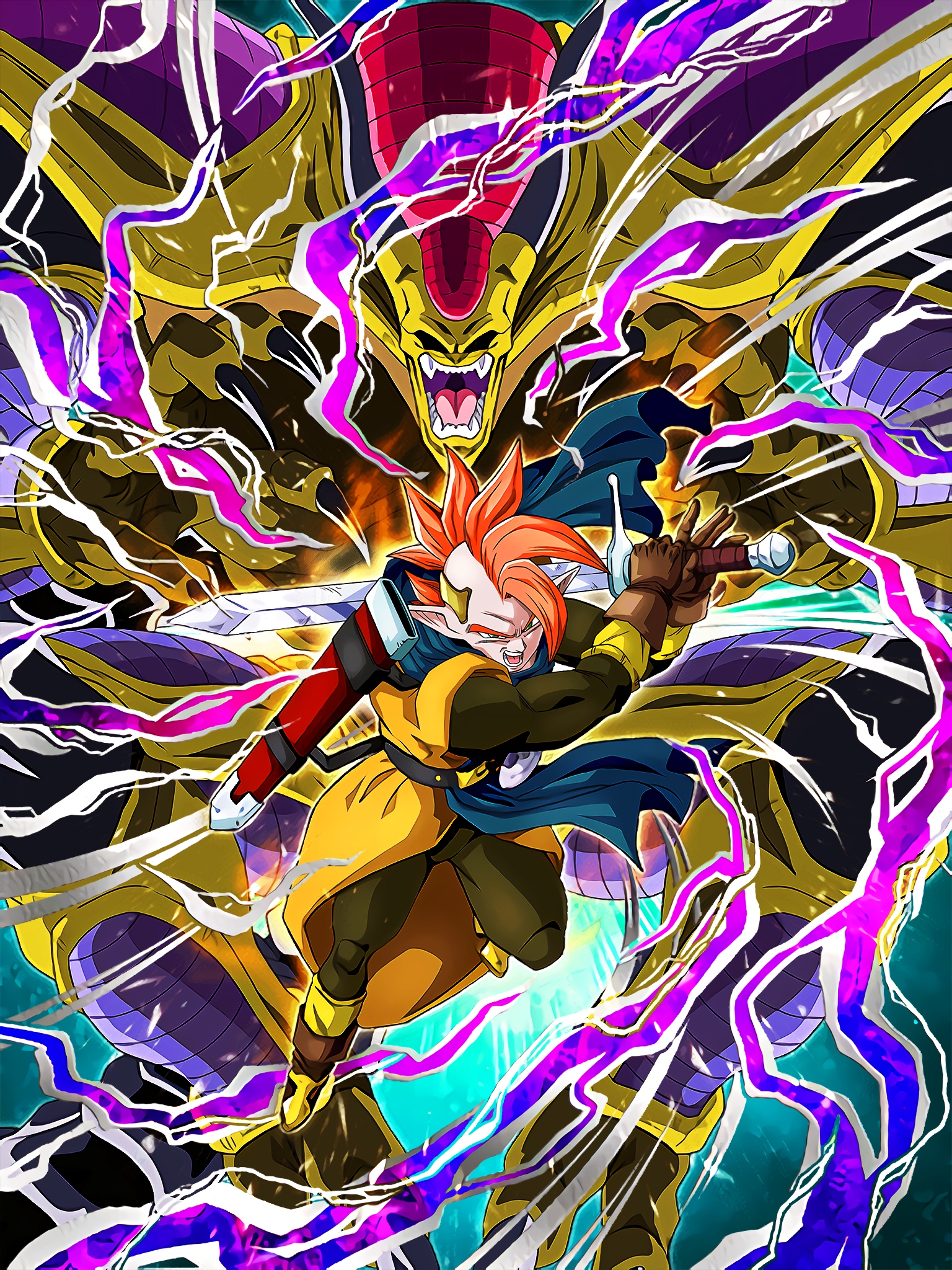 Sleeping Majin Phantom Tapion Hirudegarn Art (Dragon Ball Z Dokkan Battle)