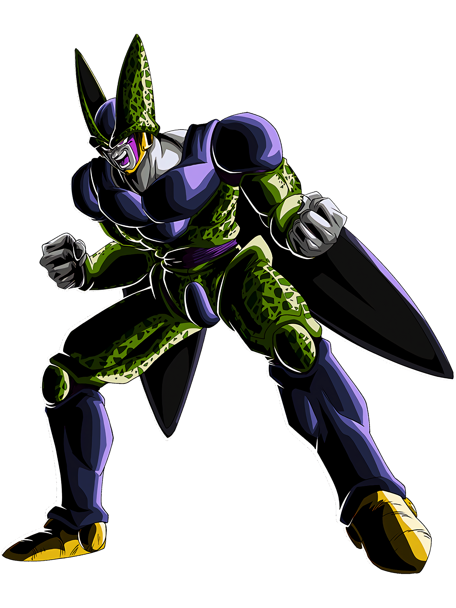 The True Value of Perfect Form Cell Perfect Form Render (Dragon Ball Z Dokkan Battle) .png