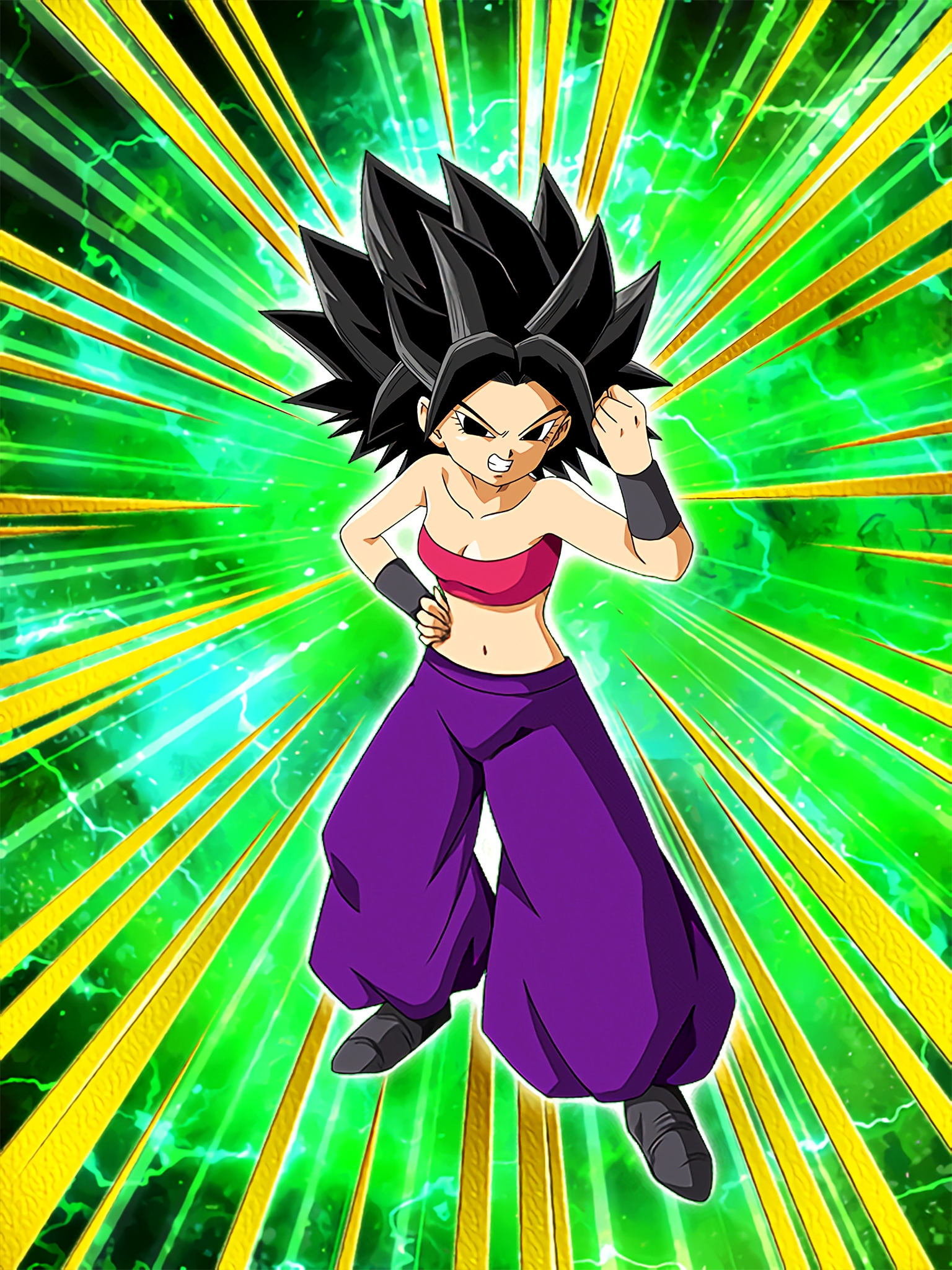 Vigorous Competitivenes Caulifla Art (Dragon Ball Z Dokkan Battle)