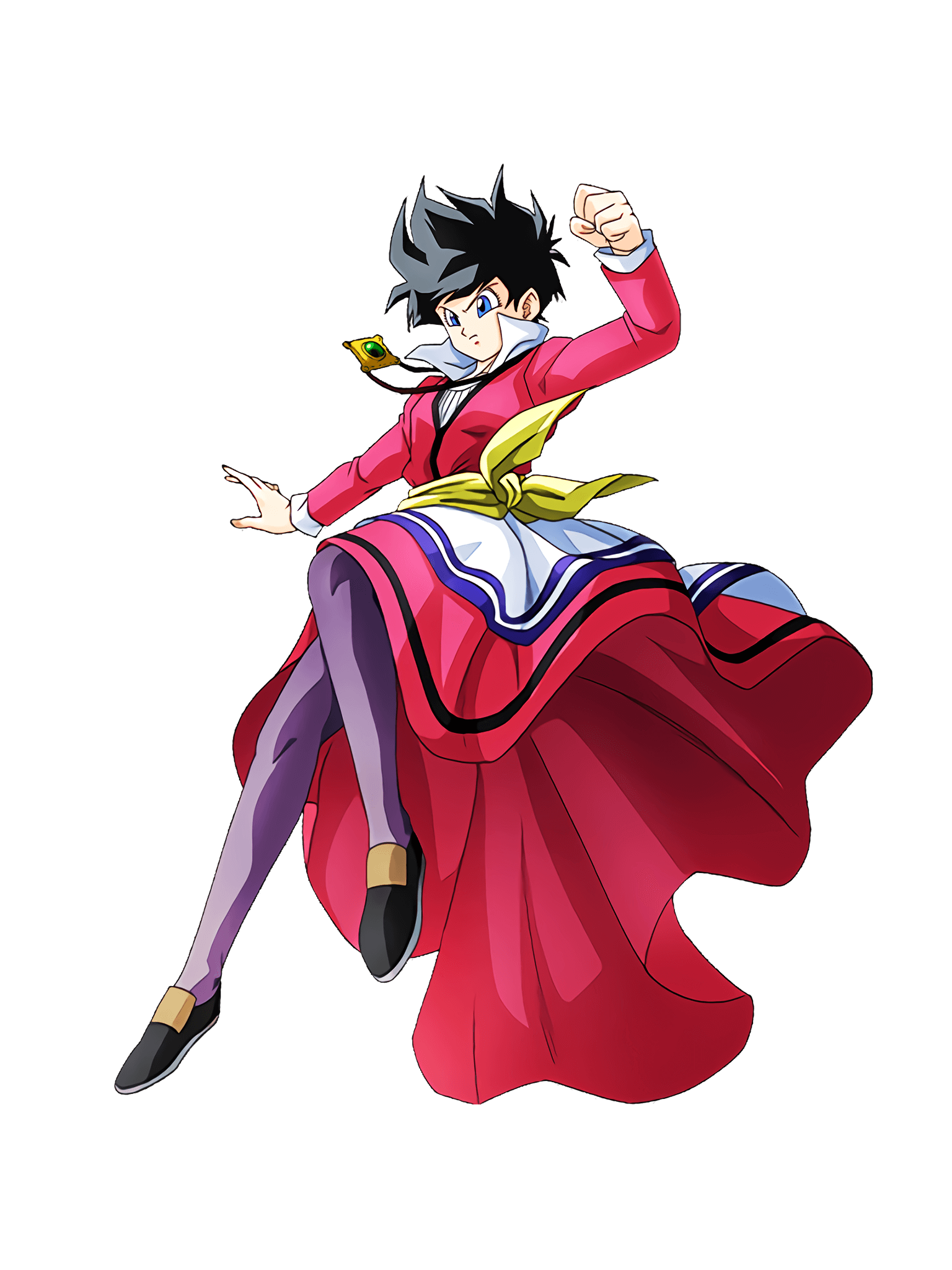 Indomitable Frontal Breakthrough Videl Render (Dragon Ball Z Dokkan Battle) .png