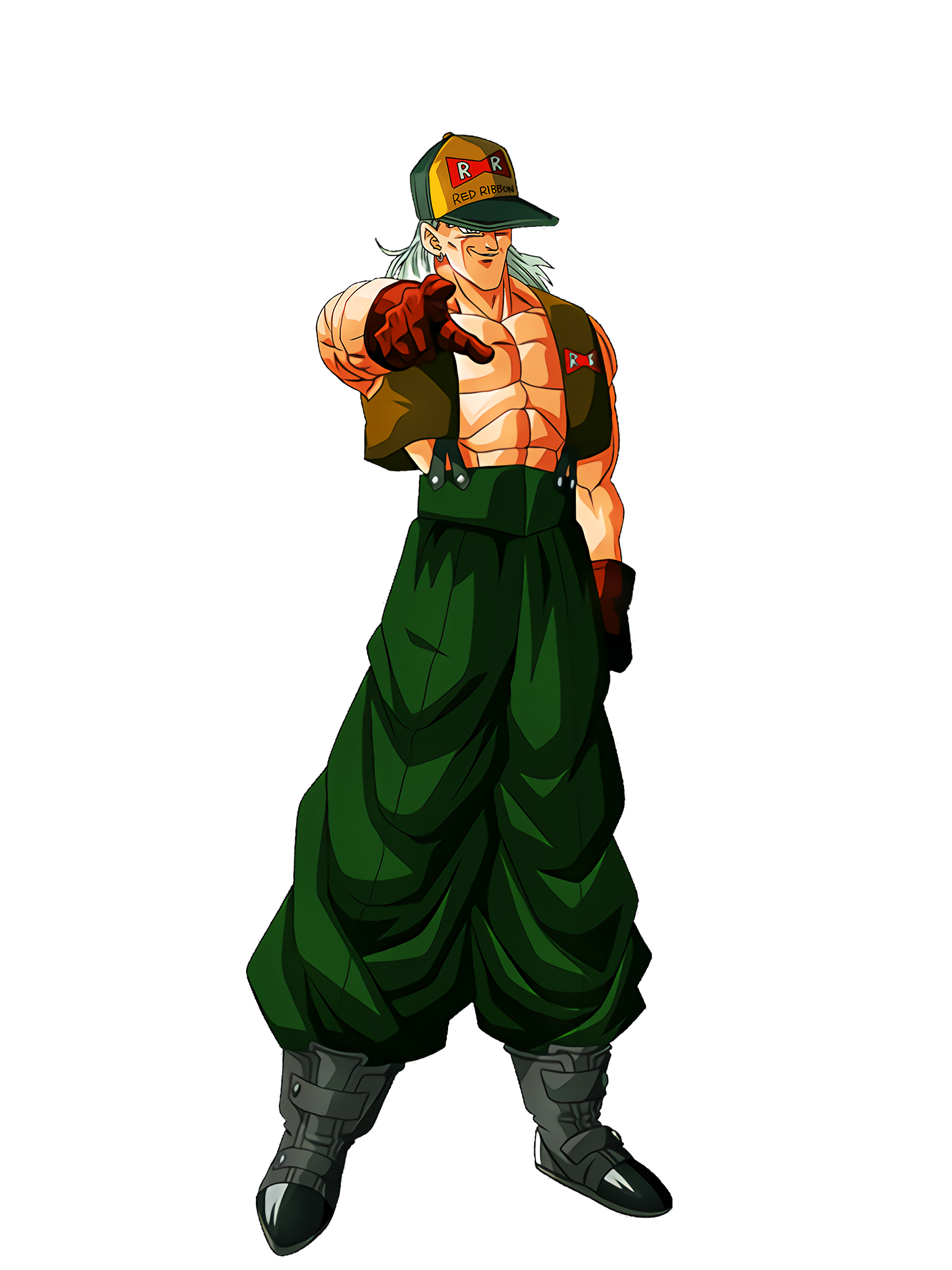 Programmed Hatred Android 13 Character Render (Dragon Ball Z Dokkan Battle) .png