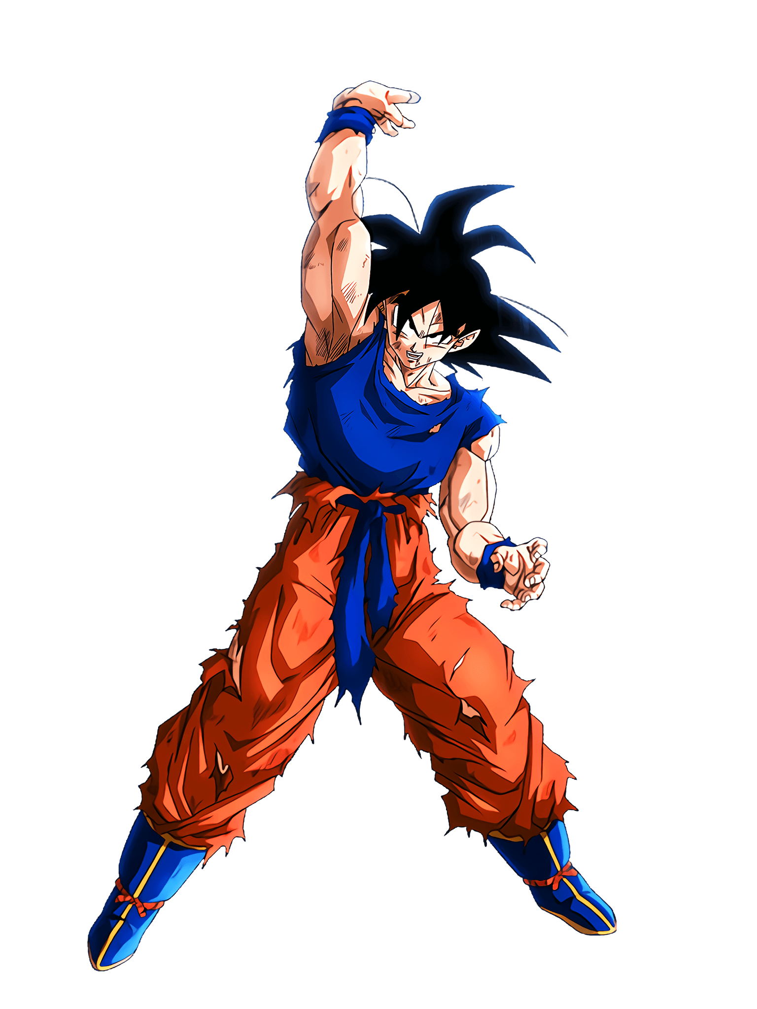 Last Trump Card Goku Render (Dragon Ball Z Dokkan Battle) .png