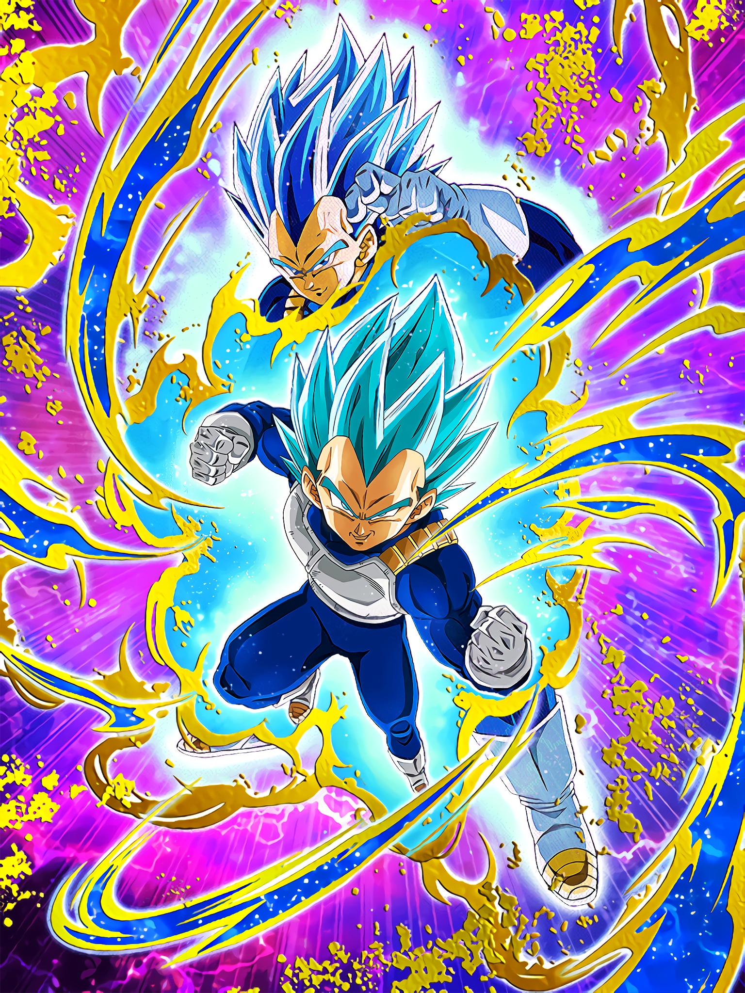 Devoted Pride Super Saiyan God SS Vegeta Art (Dragon Ball Z Dokkan Battle).jpg