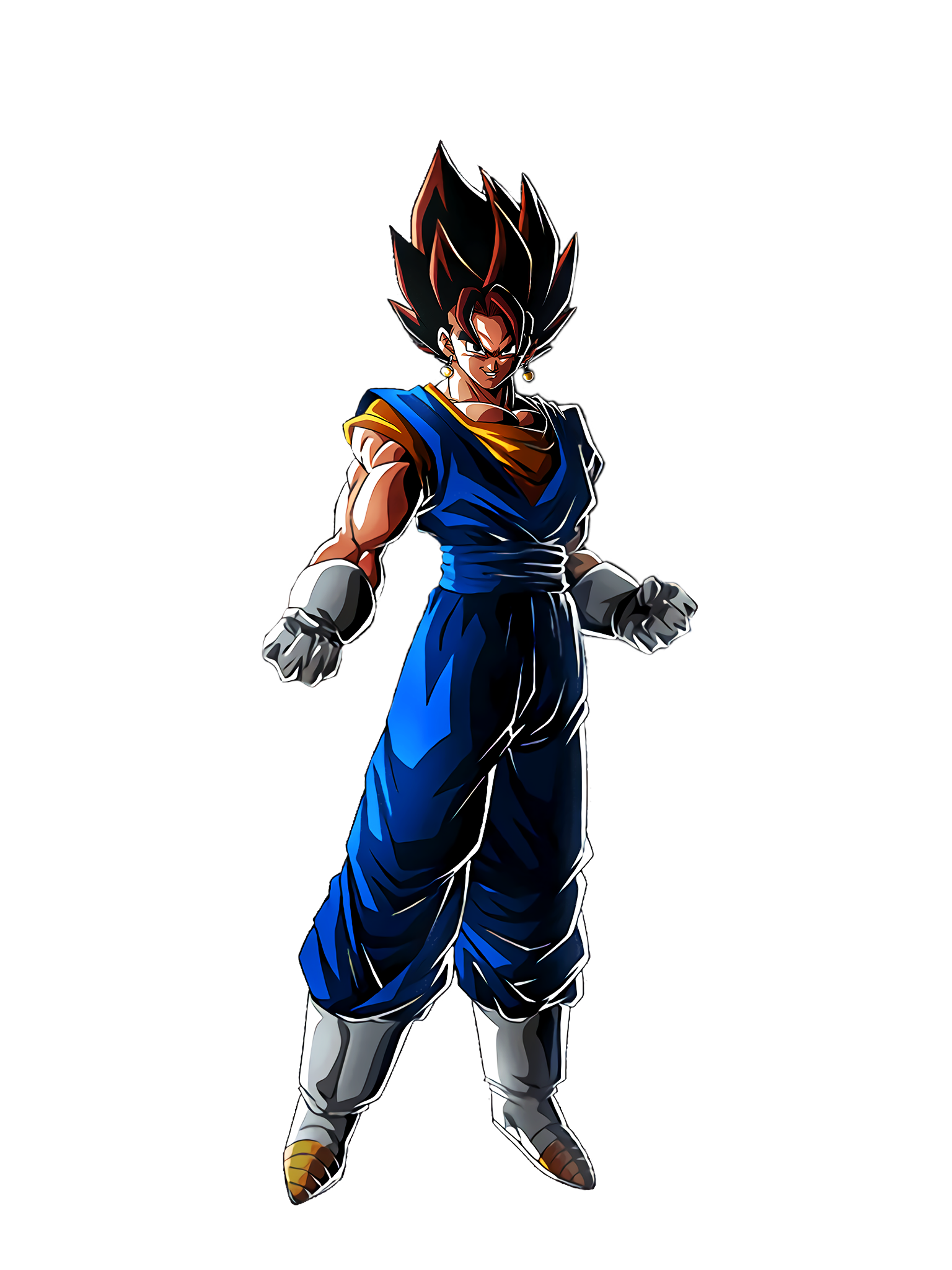 The Ultimate Invincible Fusion Vegito Render (Dragon Ball Z Dokkan Battle) .png