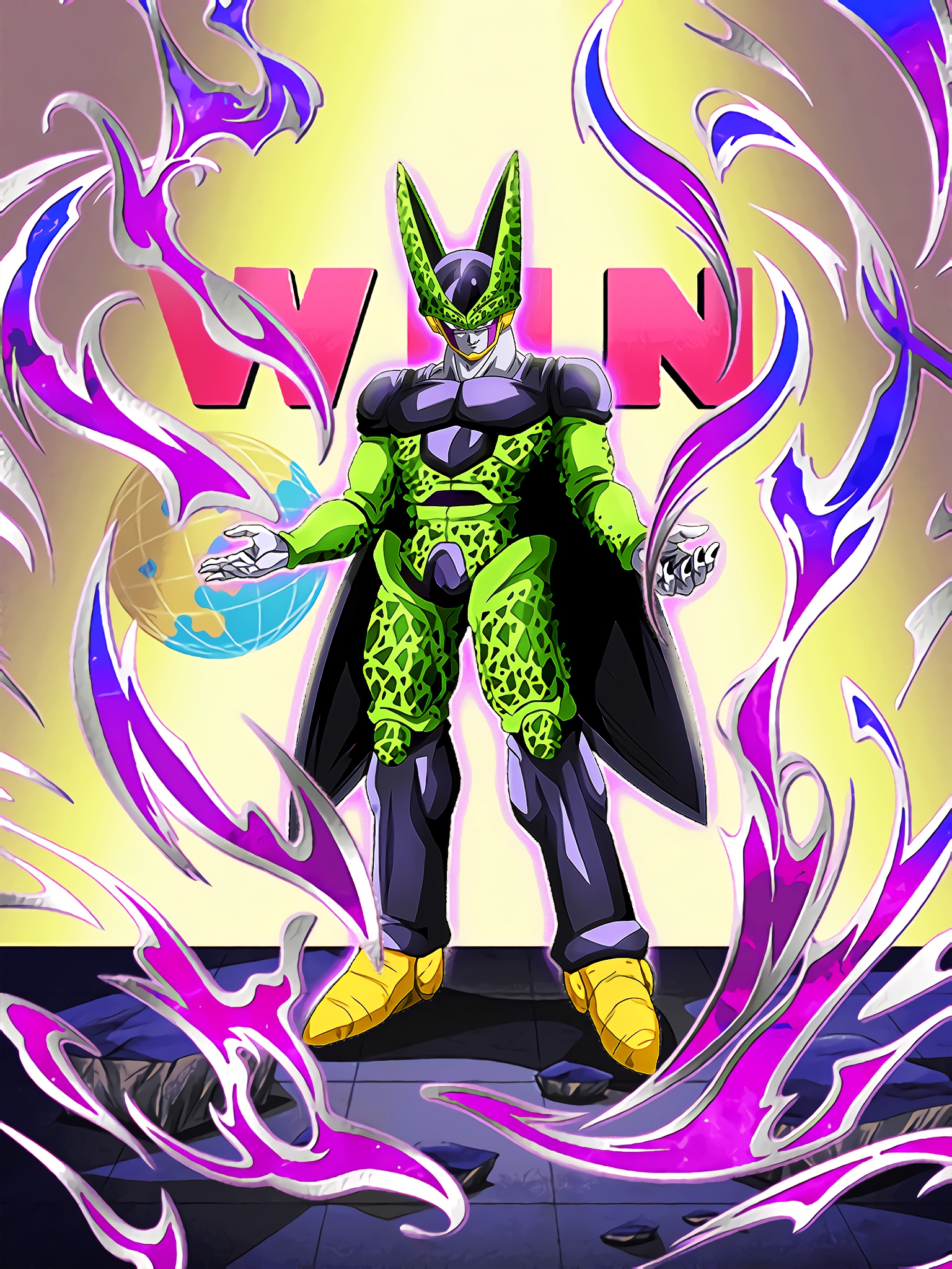 Horror Message Cell Perfect Form Art (Dragon Ball Z Dokkan Battle).jpg